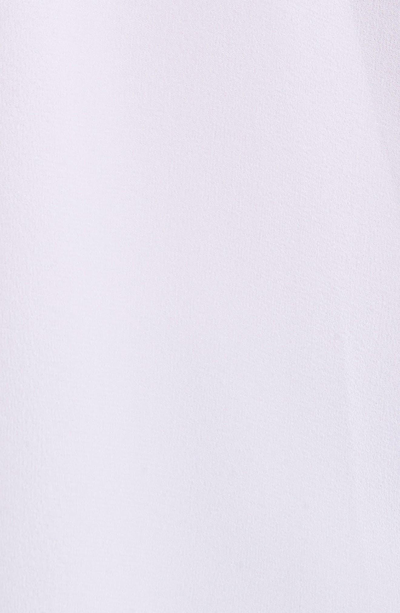 Blayne Cold Shoulder Silk Blouse,                             Alternate thumbnail 10, color,