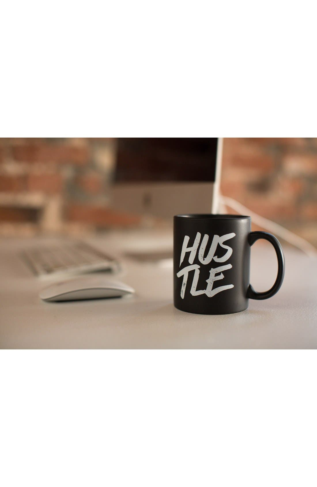 'Hustle' Mug,                             Alternate thumbnail 6, color,                             001