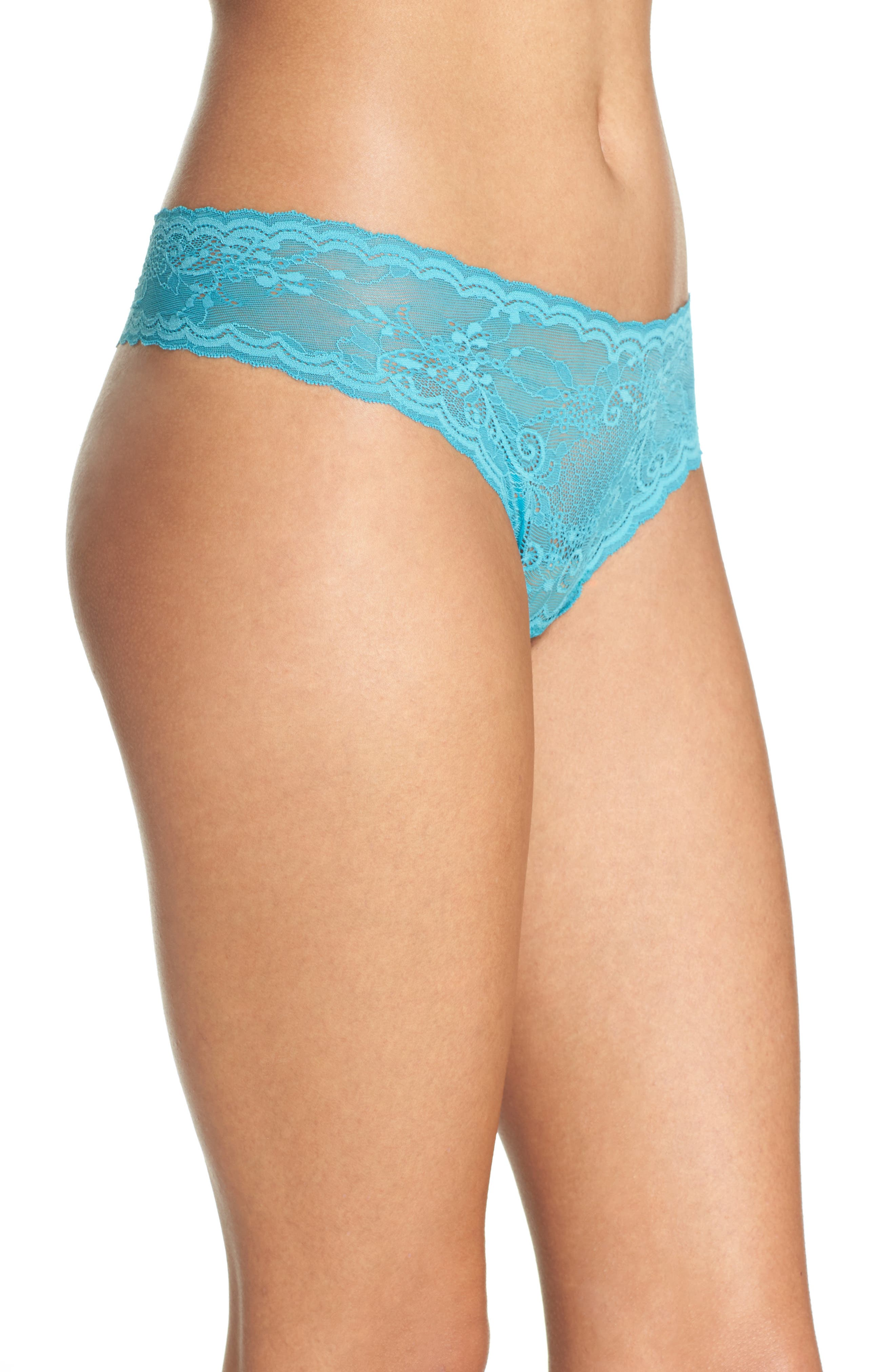 'Trenta' Low Rise Lace Thong,                             Alternate thumbnail 92, color,
