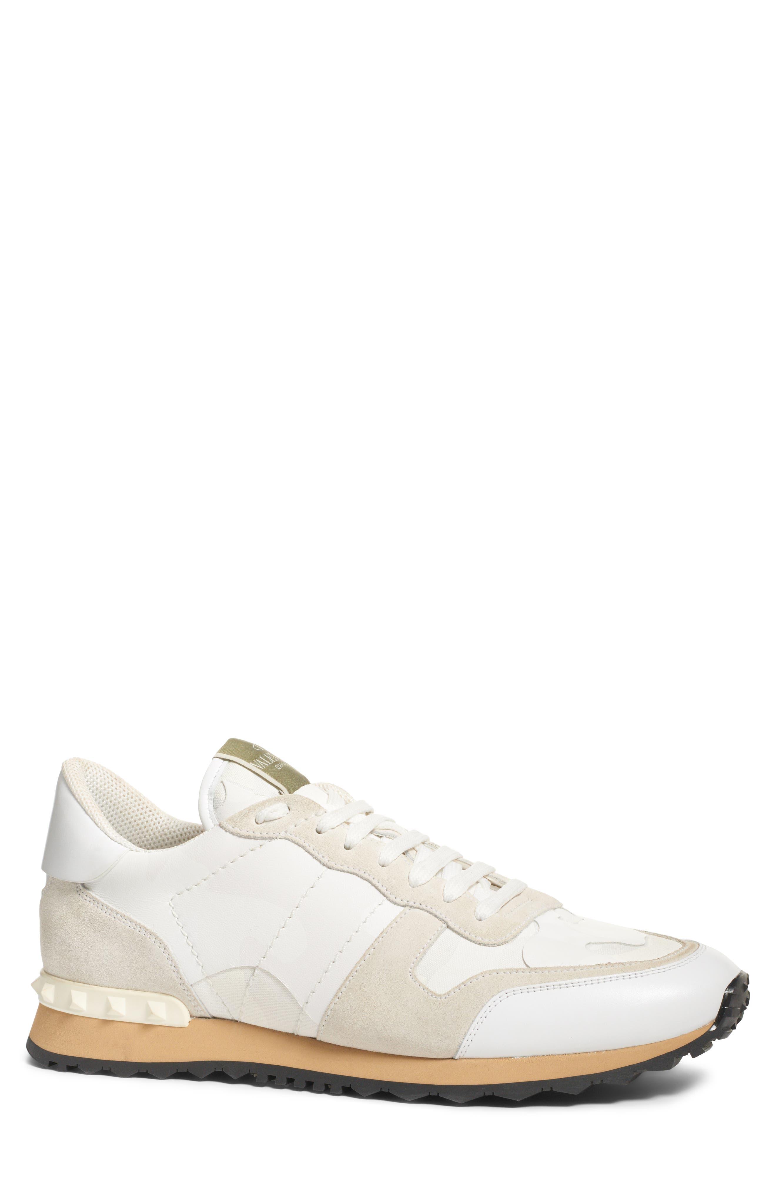 Camo Rockrunner Sneaker,                             Main thumbnail 1, color,                             WHITE