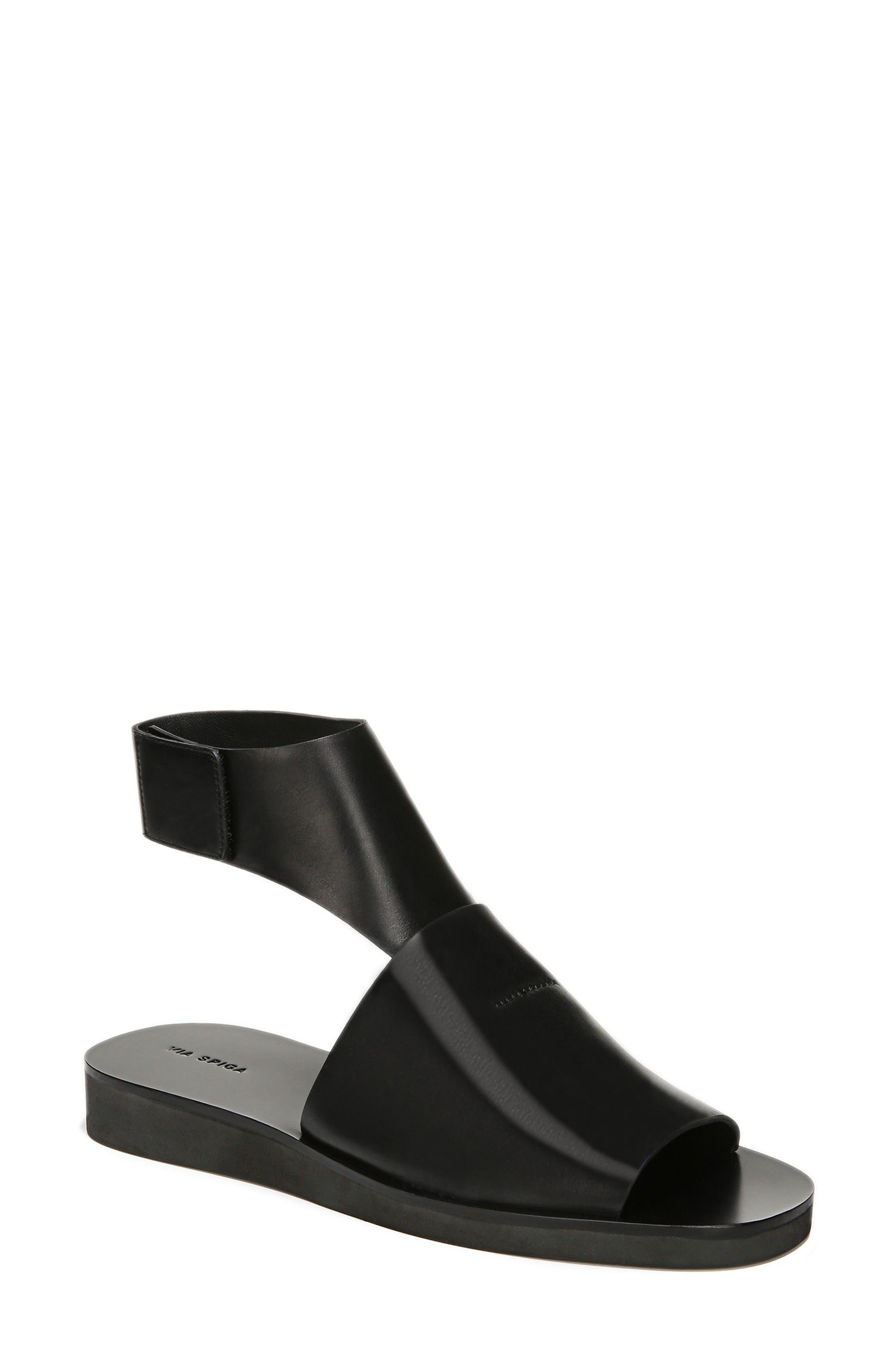Briar Ankle Strap Sandal,                         Main,                         color, 001