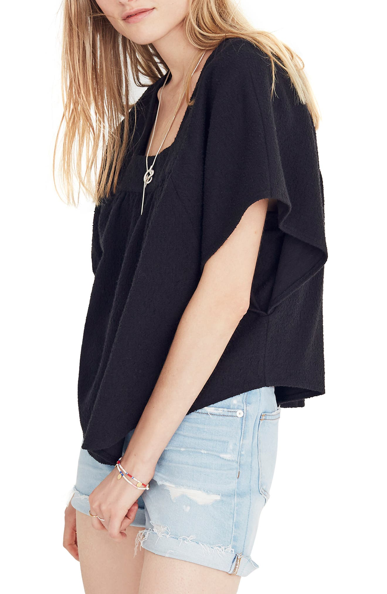 Solid Butterfly Top,                             Alternate thumbnail 3, color,