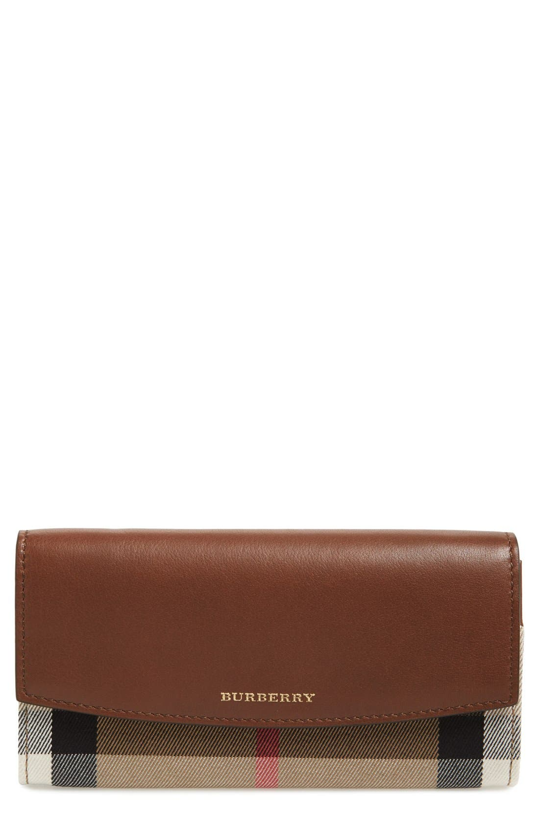 'Porter' Continental Wallet, Main, color, 200