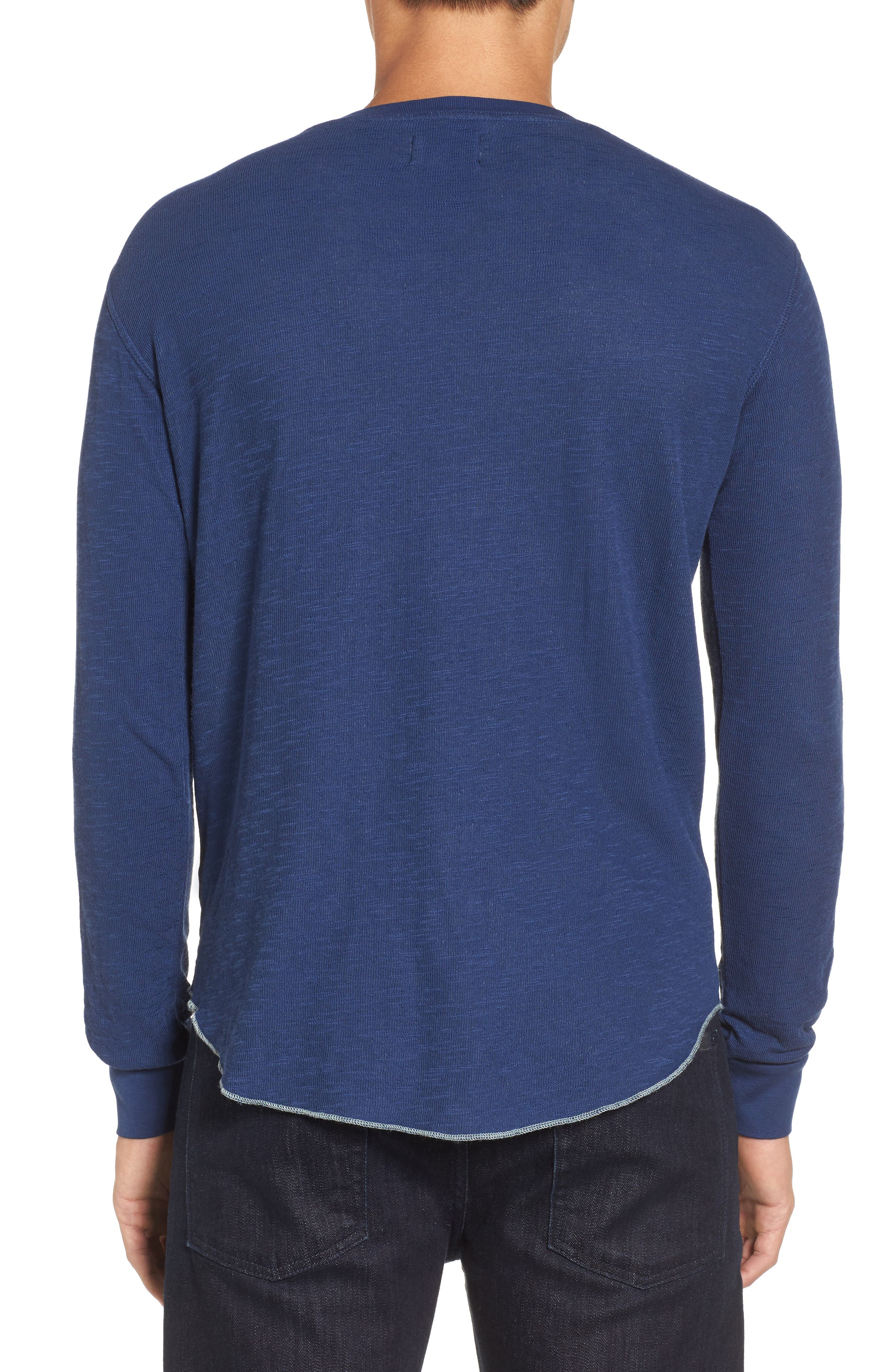 Double Layer Slim Crewneck T-Shirt,                             Alternate thumbnail 13, color,