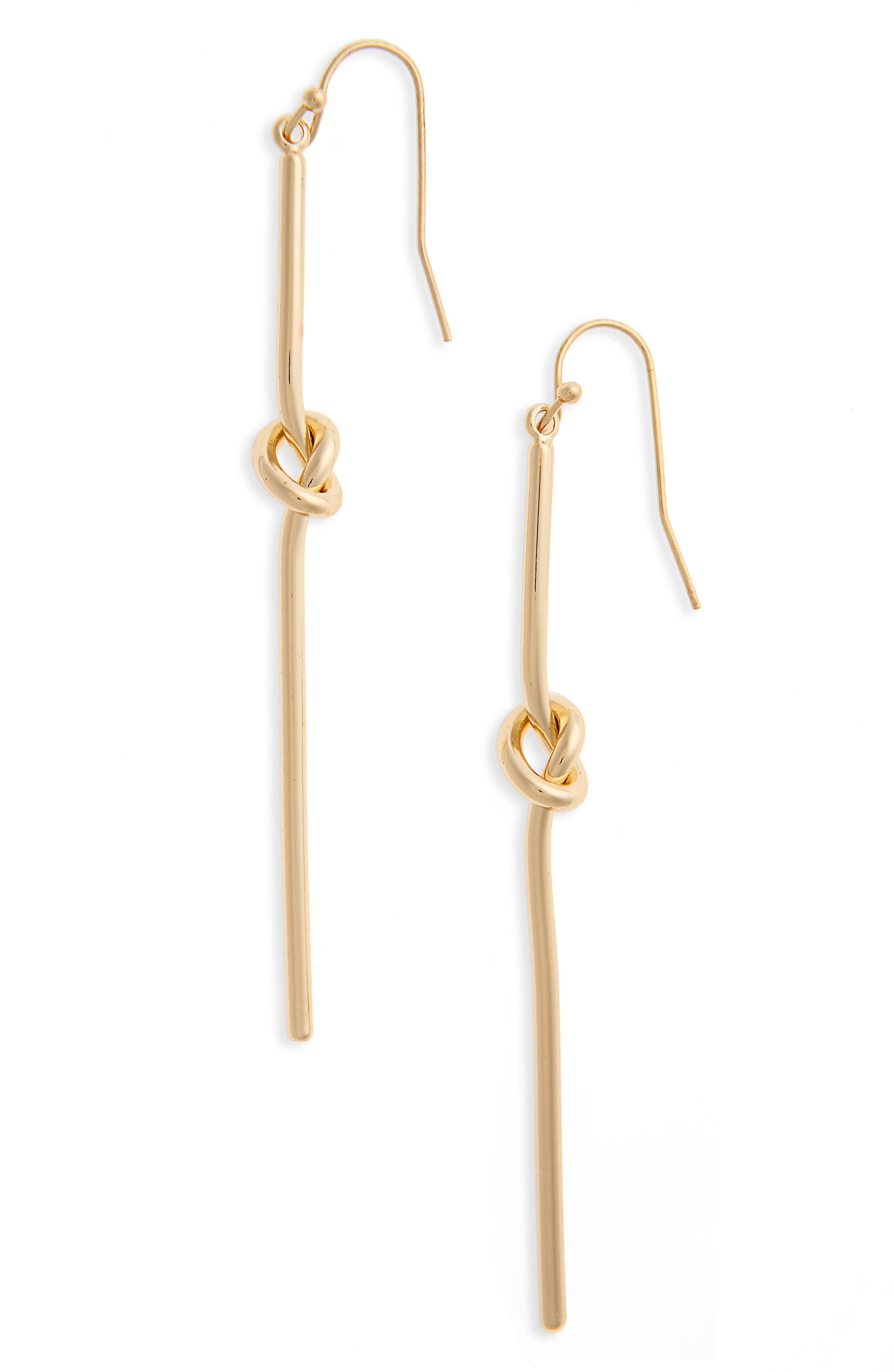 Knot Drop Earrings,                         Main,                         color, 710