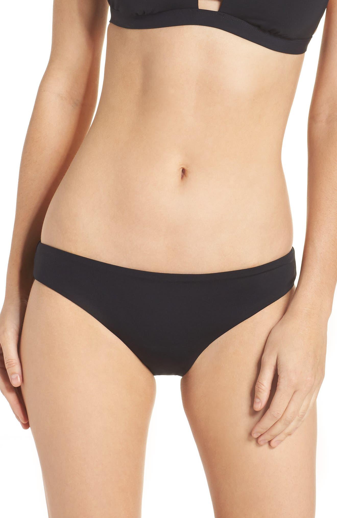 Active Bikini Bottoms,                         Main,                         color, BLACK