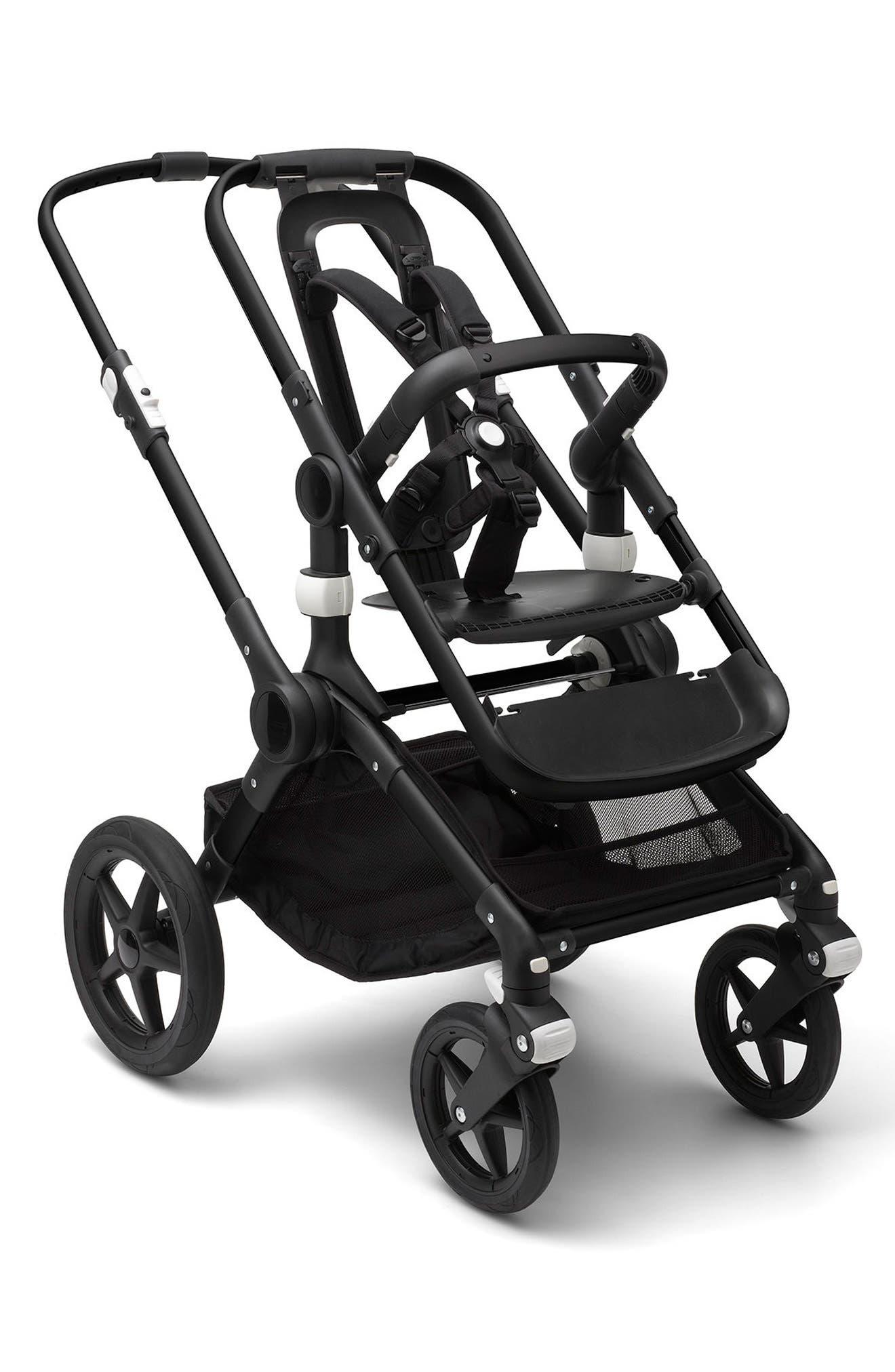 Fox Black Stroller Base Frame,                         Main,                         color, BLACK