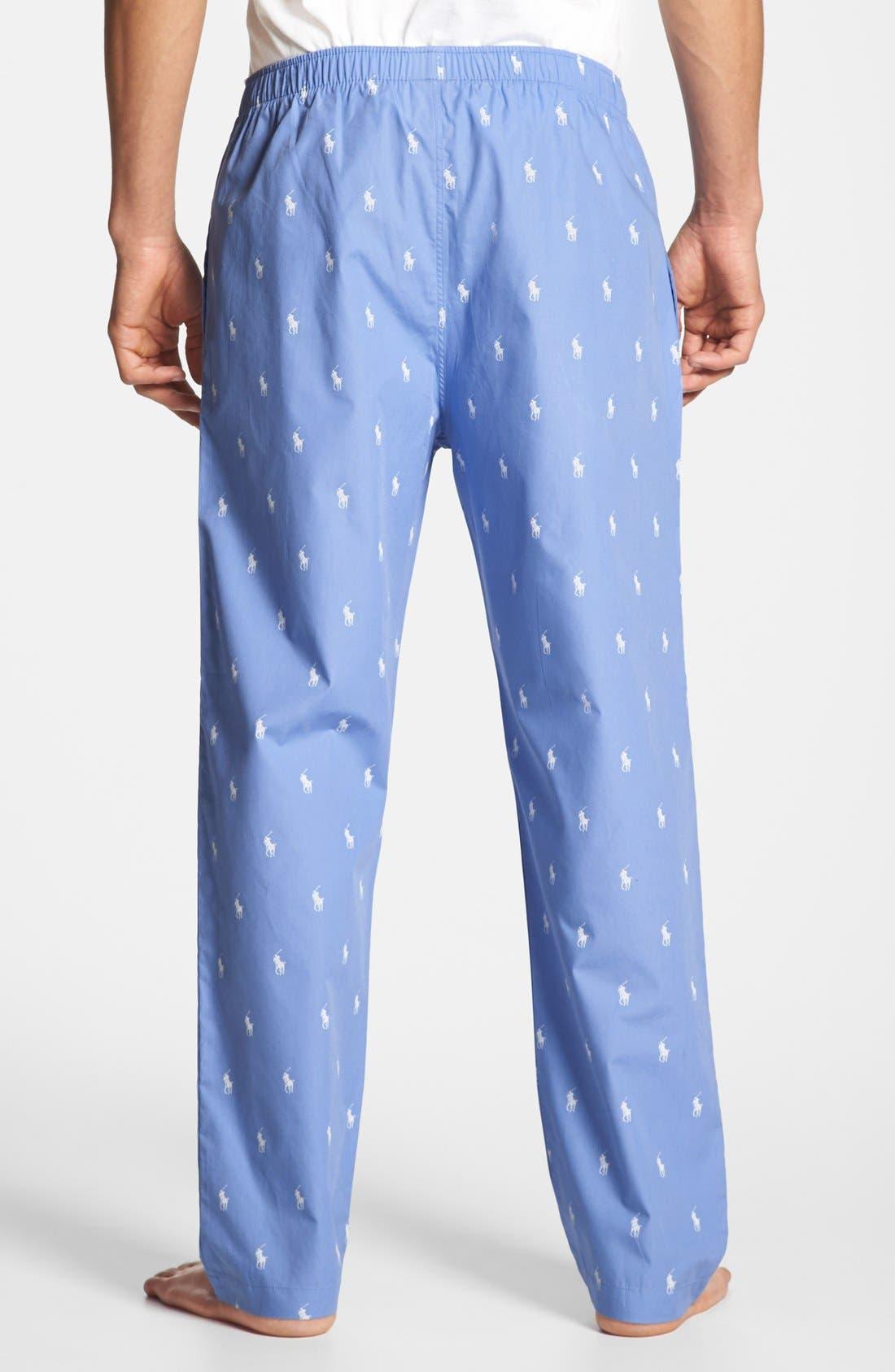 Cotton Lounge Pants,                             Alternate thumbnail 2, color,                             400