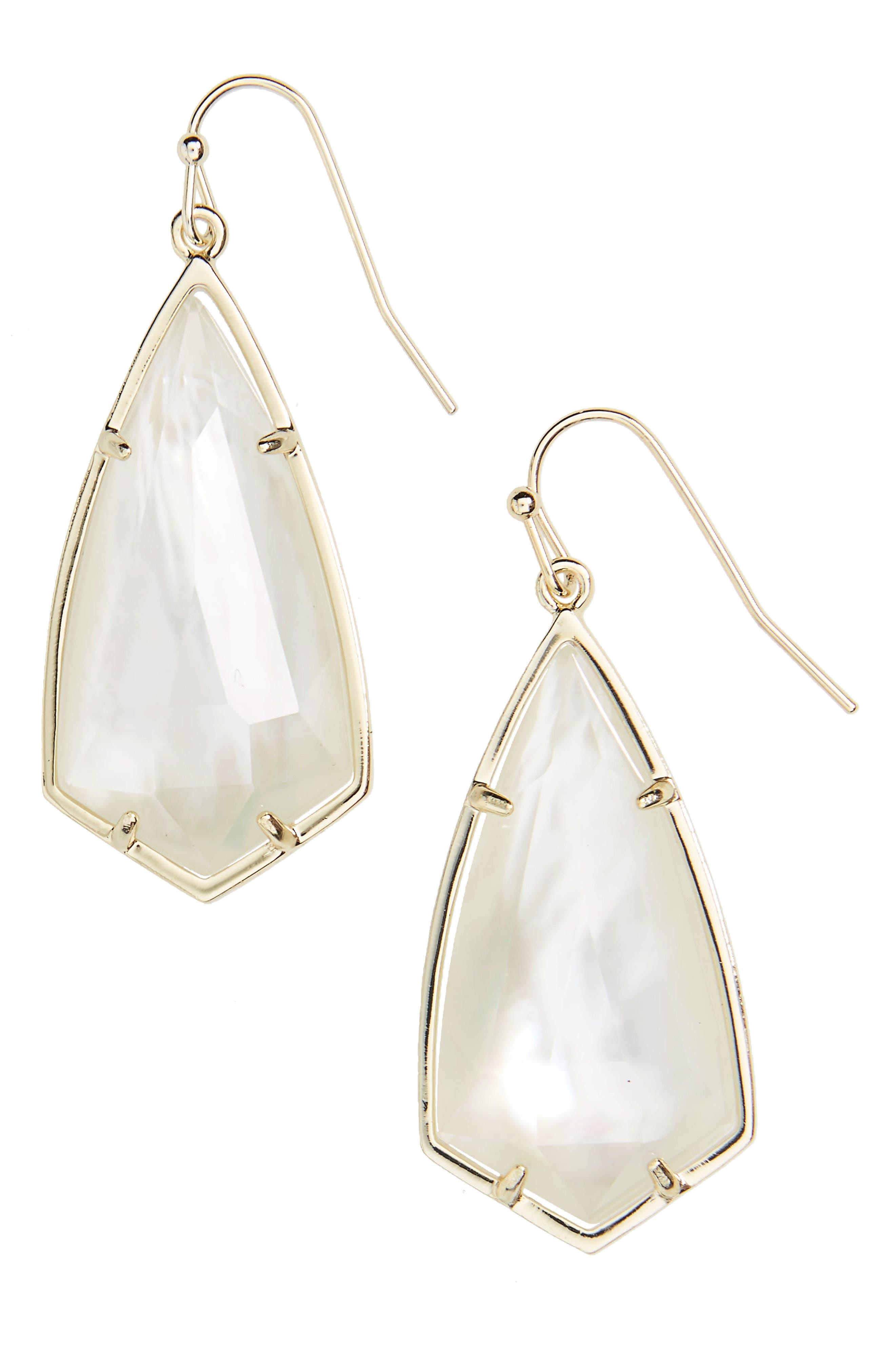 Carla Semiprecious Stone Drop Earrings,                             Main thumbnail 12, color,