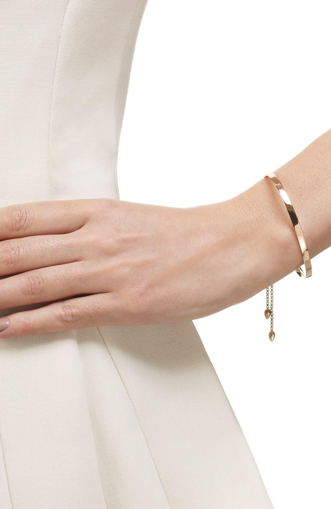 Fiji Chain Bracelet,                             Alternate thumbnail 2, color,                             ROSE GOLD