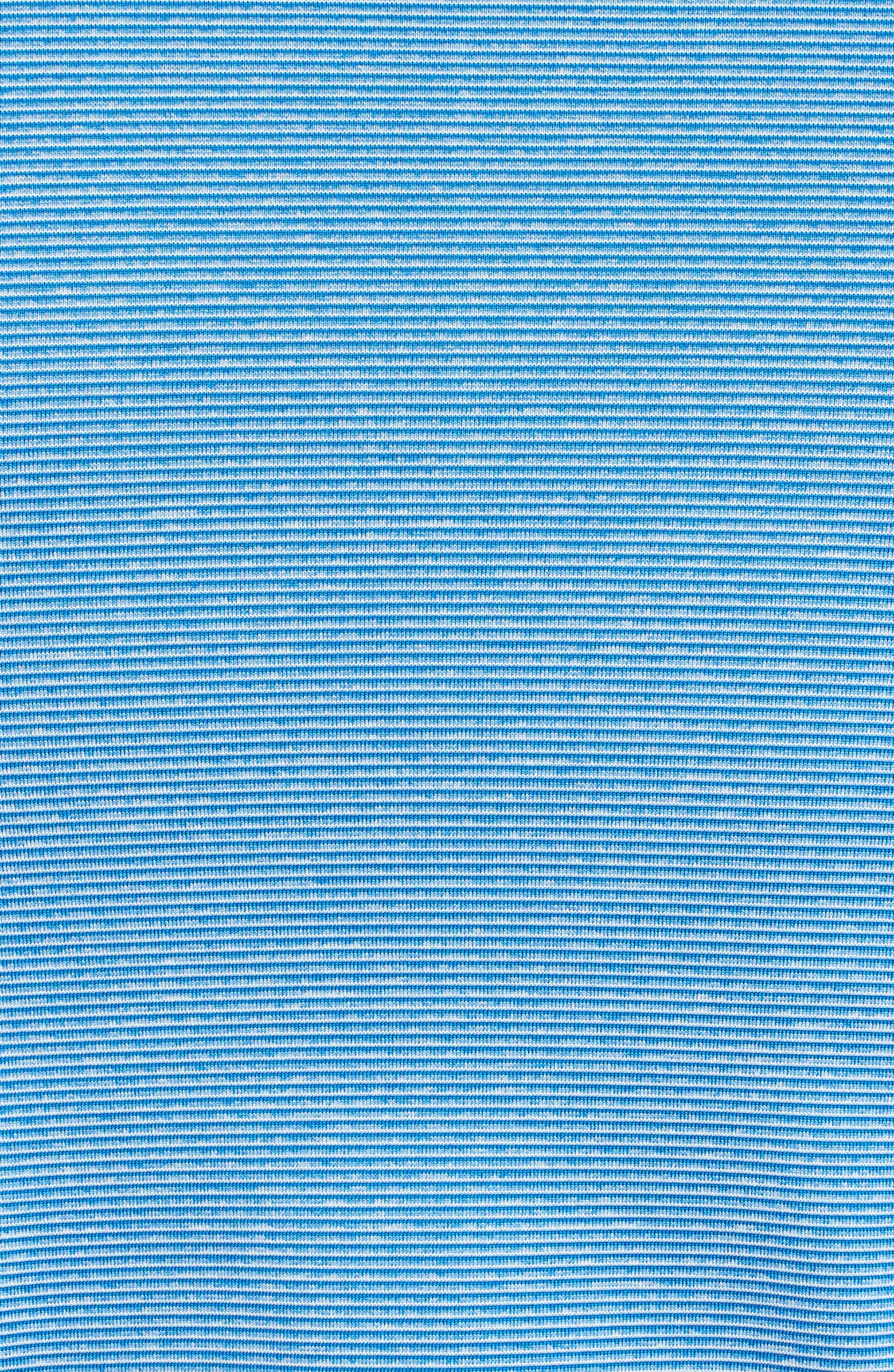 Dry Control Stripe Polo,                             Alternate thumbnail 5, color,                             433