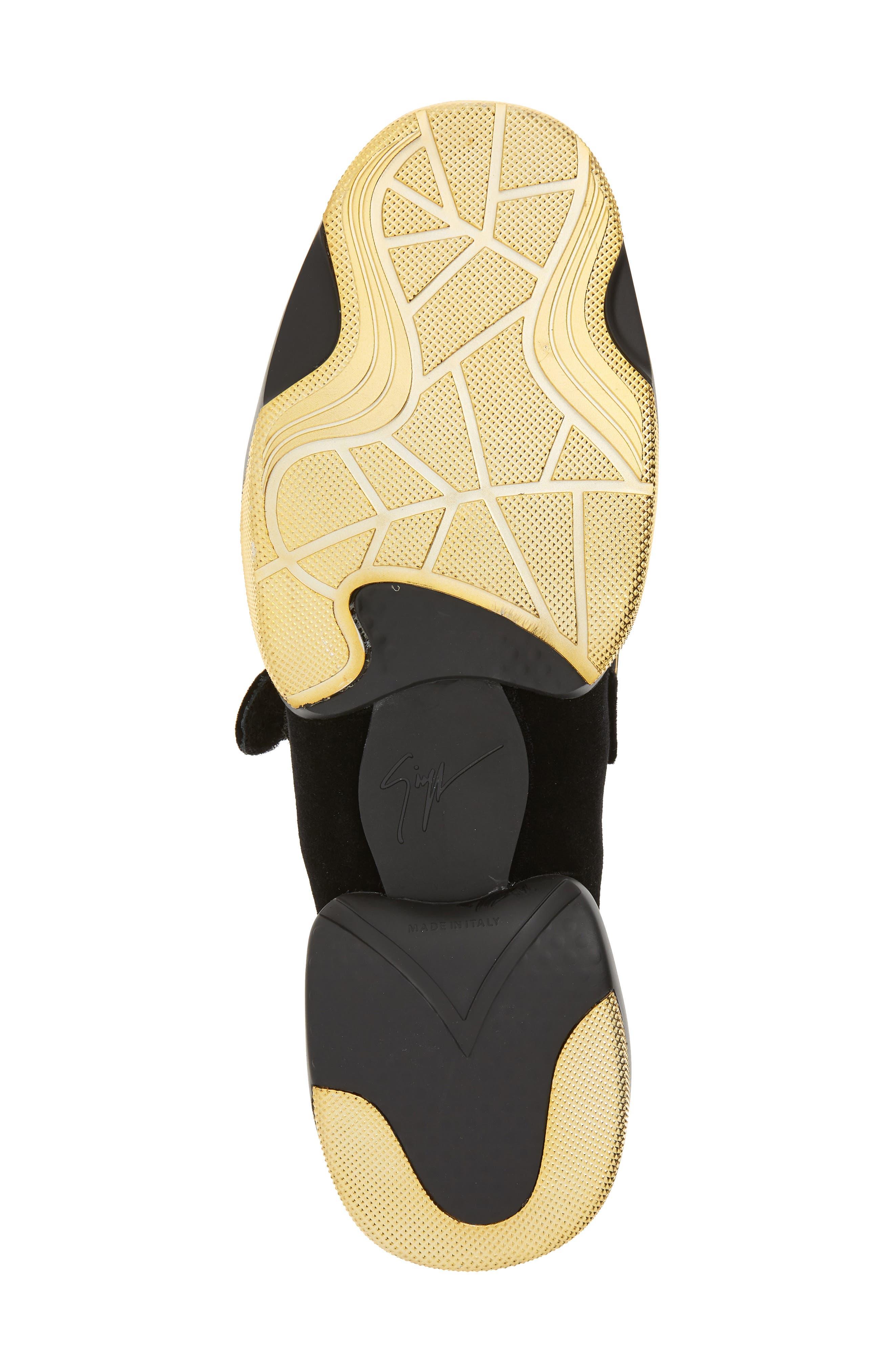 Gold Bar Sneaker,                             Alternate thumbnail 6, color,                             003