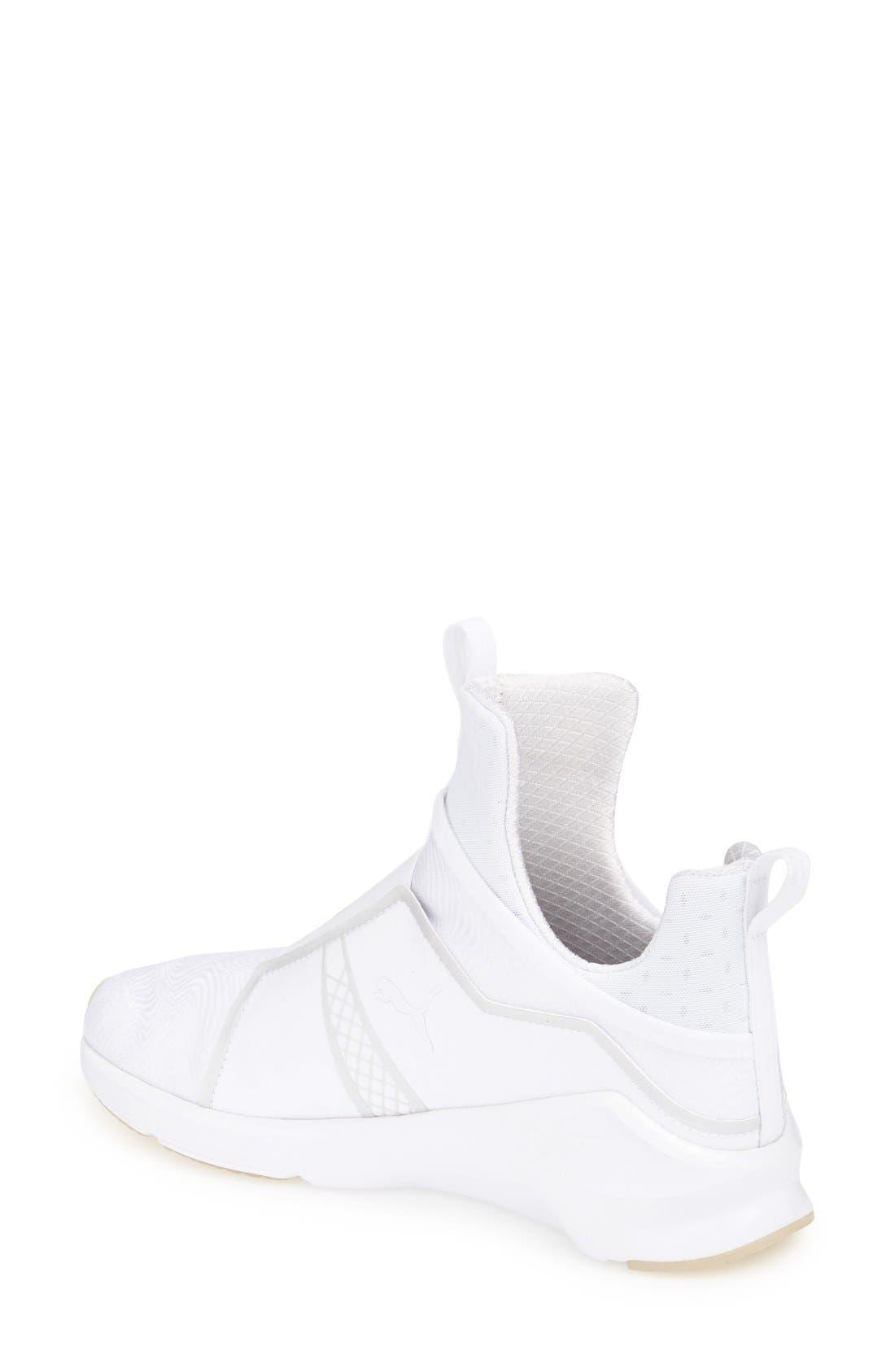 PUMA,                             'Fierce Bright' Sneaker,                             Alternate thumbnail 2, color,                             100