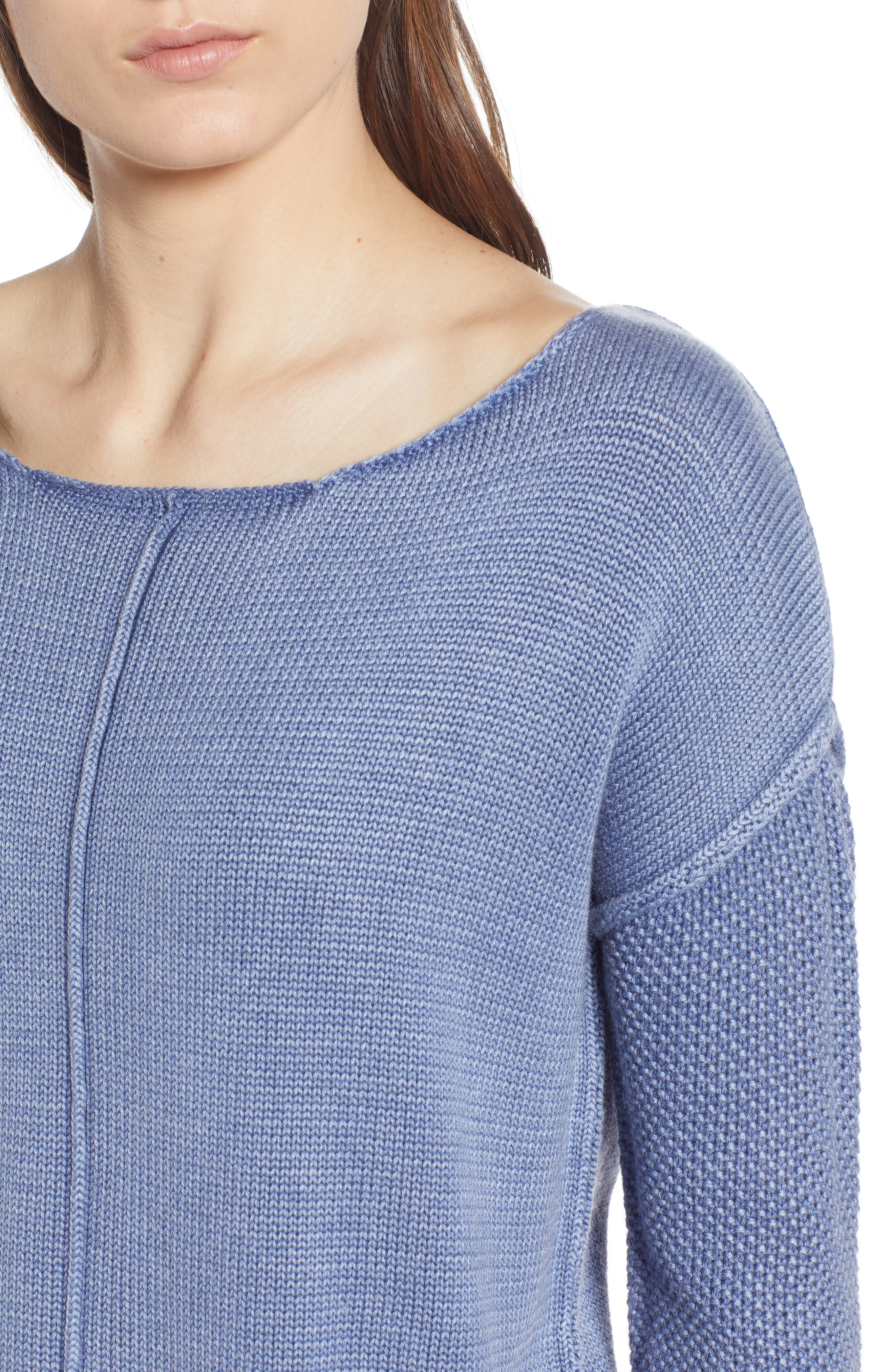 Erin Knit Sweater,                             Alternate thumbnail 4, color,                             410