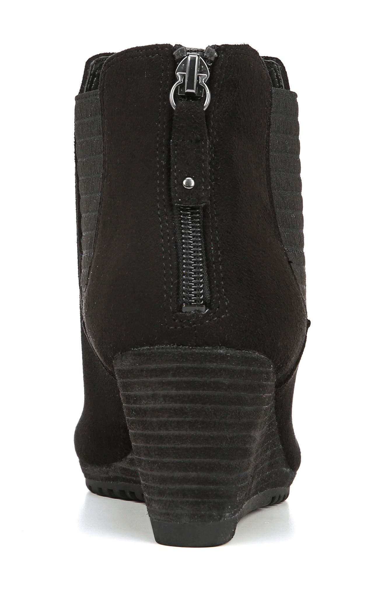 Critic Wedge Chelsea Bootie,                             Alternate thumbnail 6, color,                             001