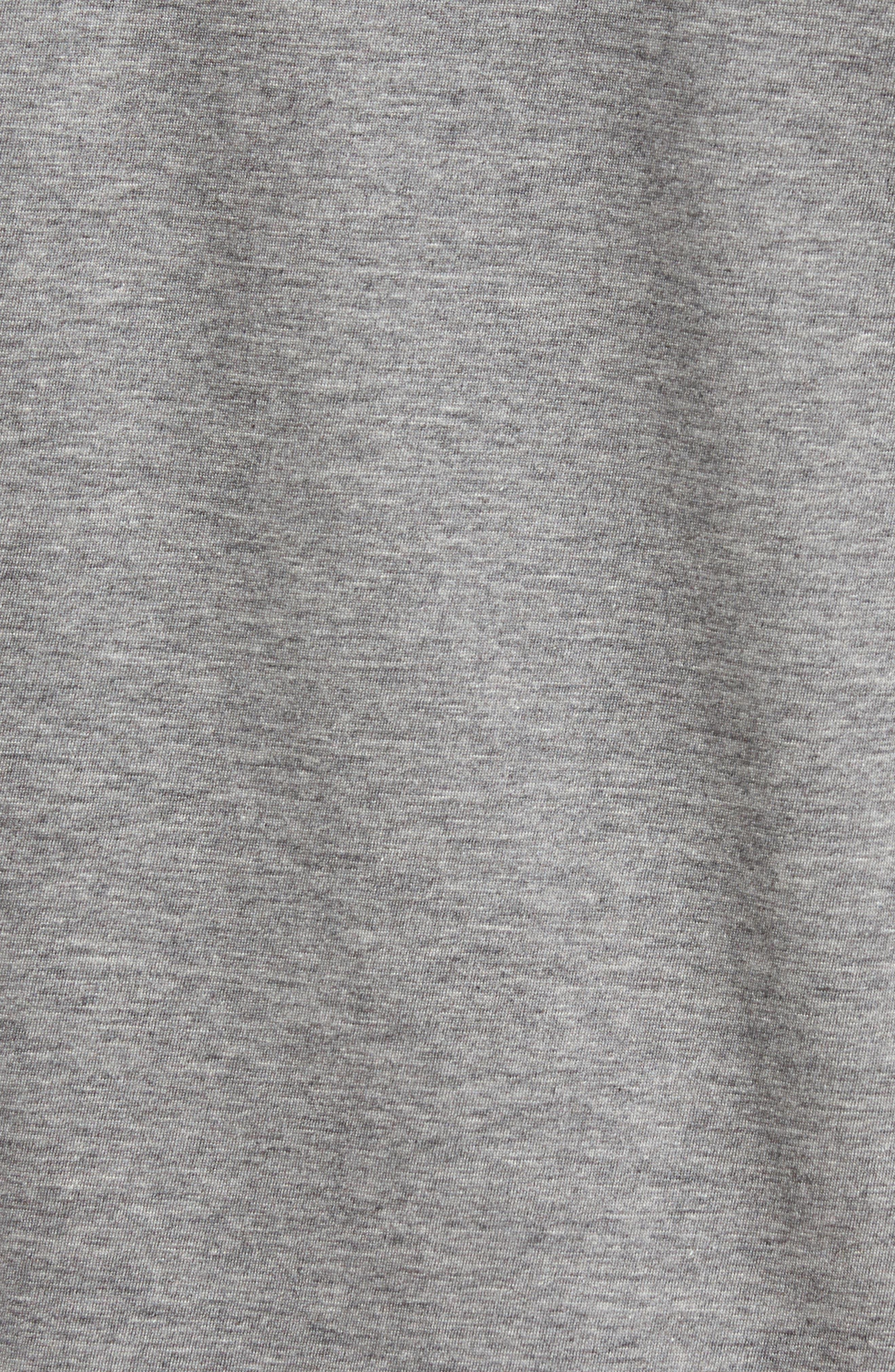 Pima Cotton T-Shirt,                             Alternate thumbnail 5, color,                             GALAXITE CHINE