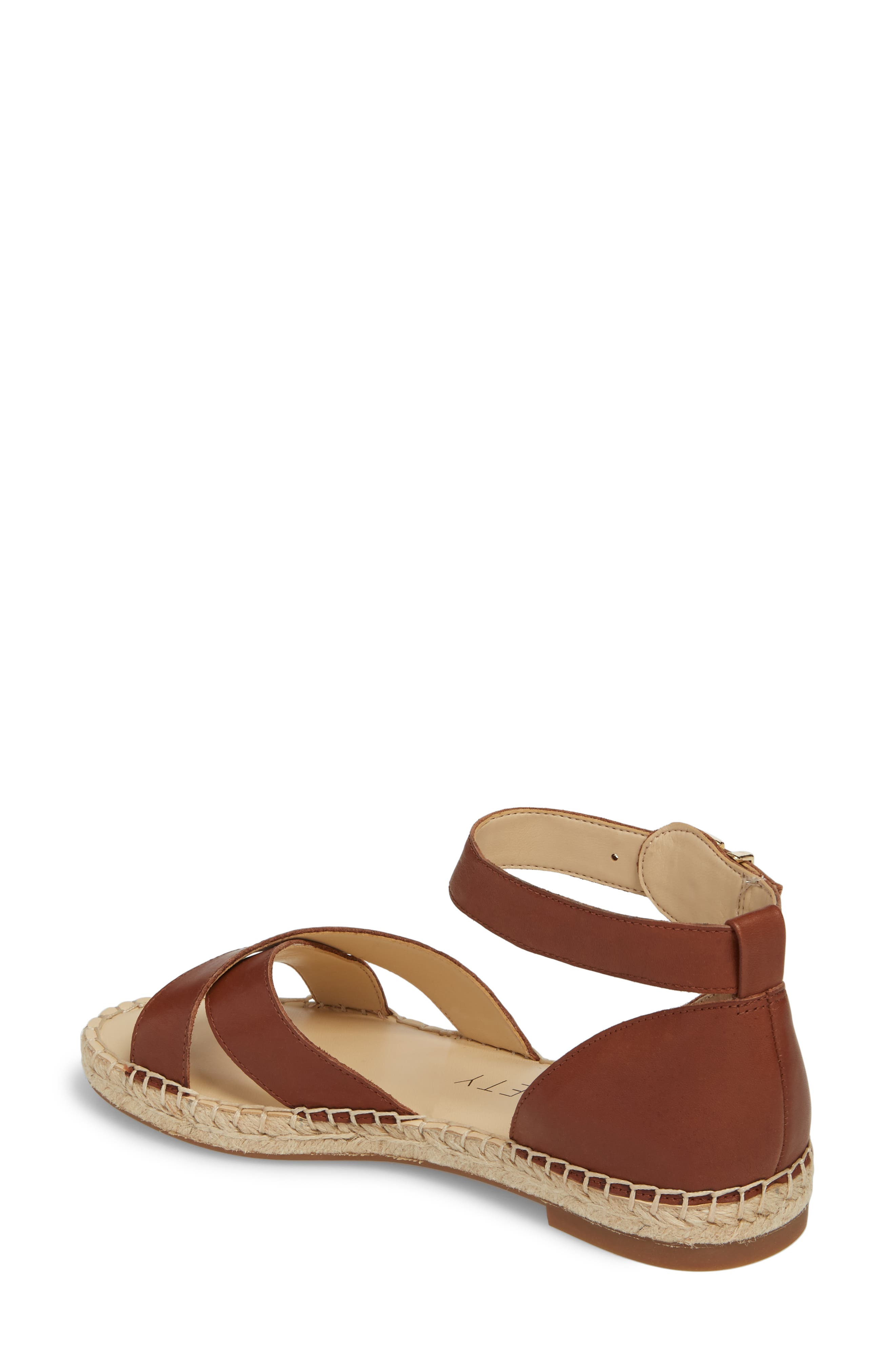 Saundra Espadrille Sandal,                             Alternate thumbnail 7, color,