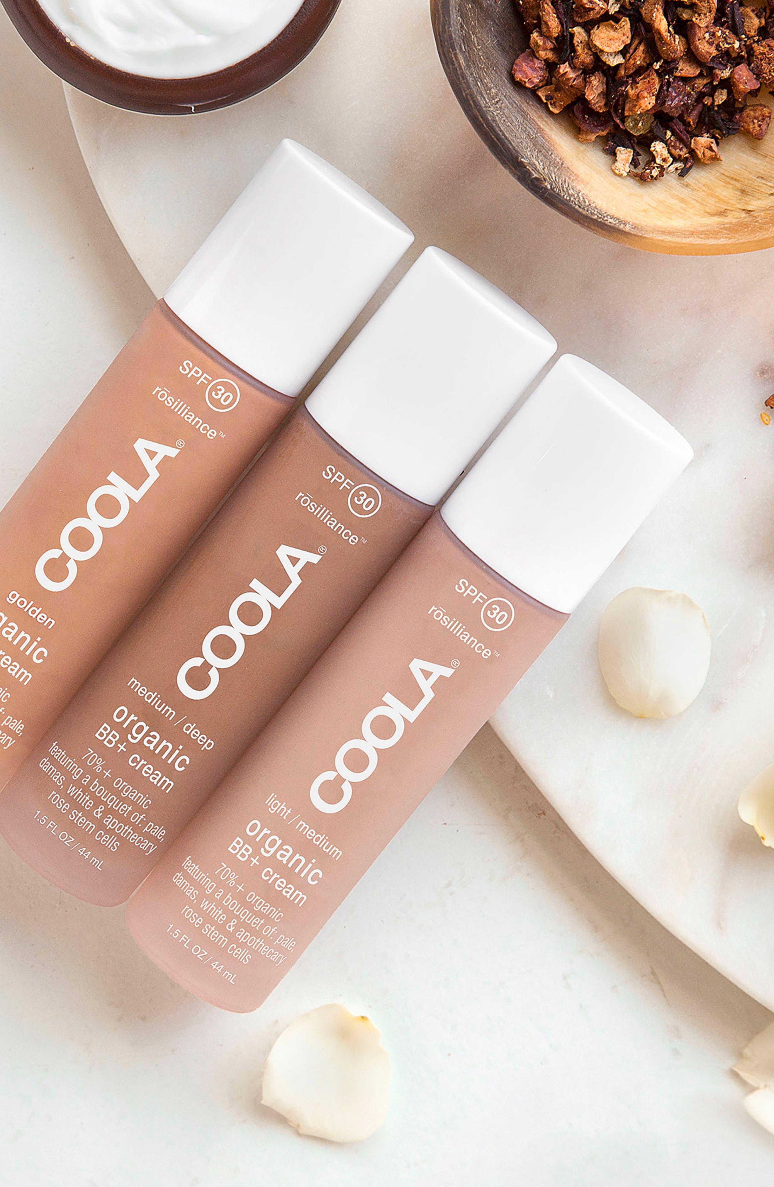 COOLA<sup>®</sup> Suncare rosilliance<sup>™</sup> Mineral BB+ Cream SPF 30,                             Alternate thumbnail 2, color,                             LIGHT MEDIUM