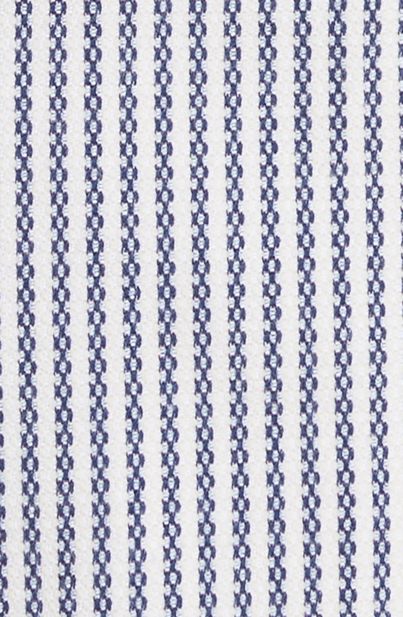 Helaina Sayre Stripe A-Line Dress,                             Alternate thumbnail 5, color,
