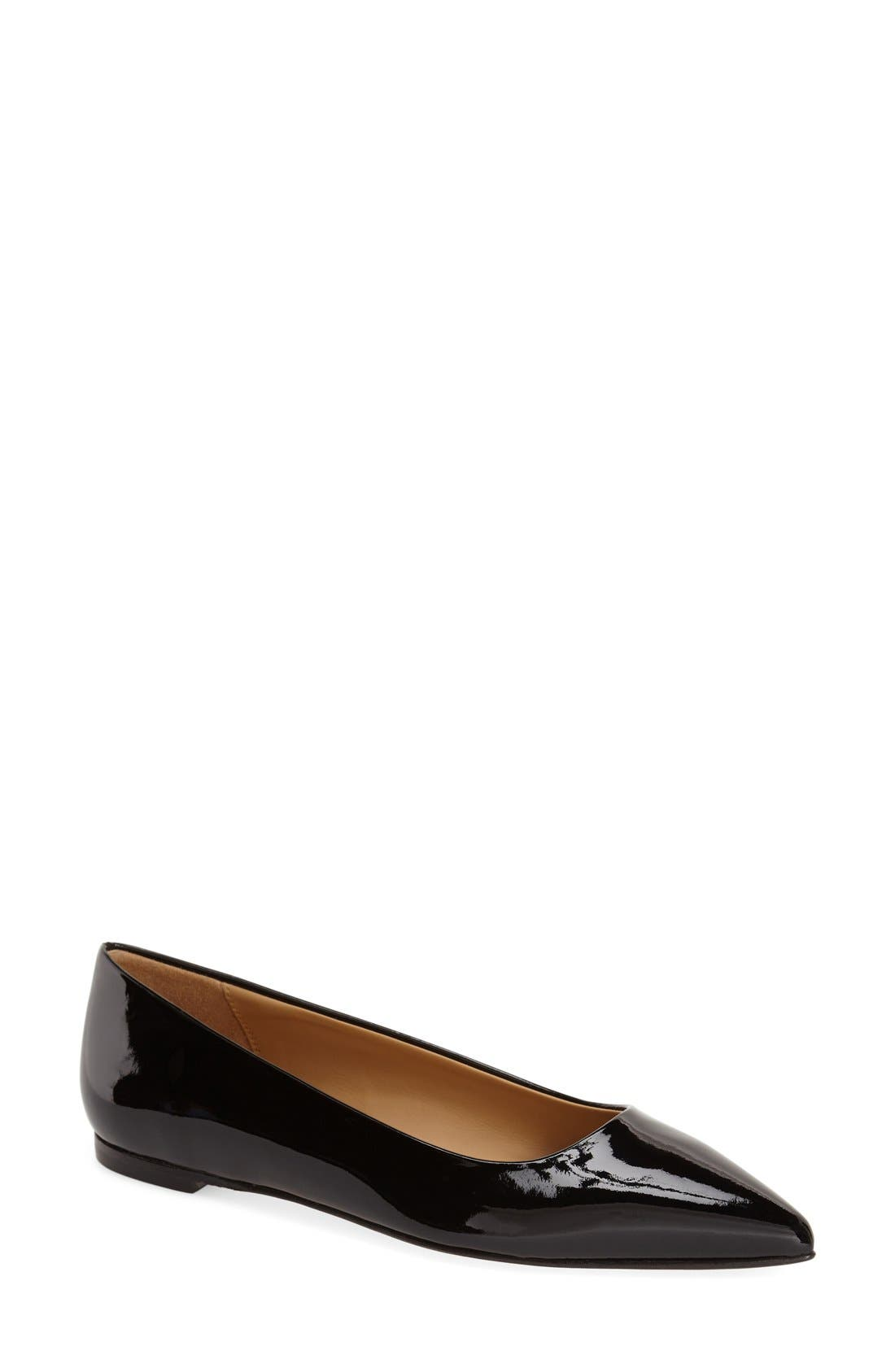 Australia Collection 'Linda' Pointy Toe Flat, Main, color, 001