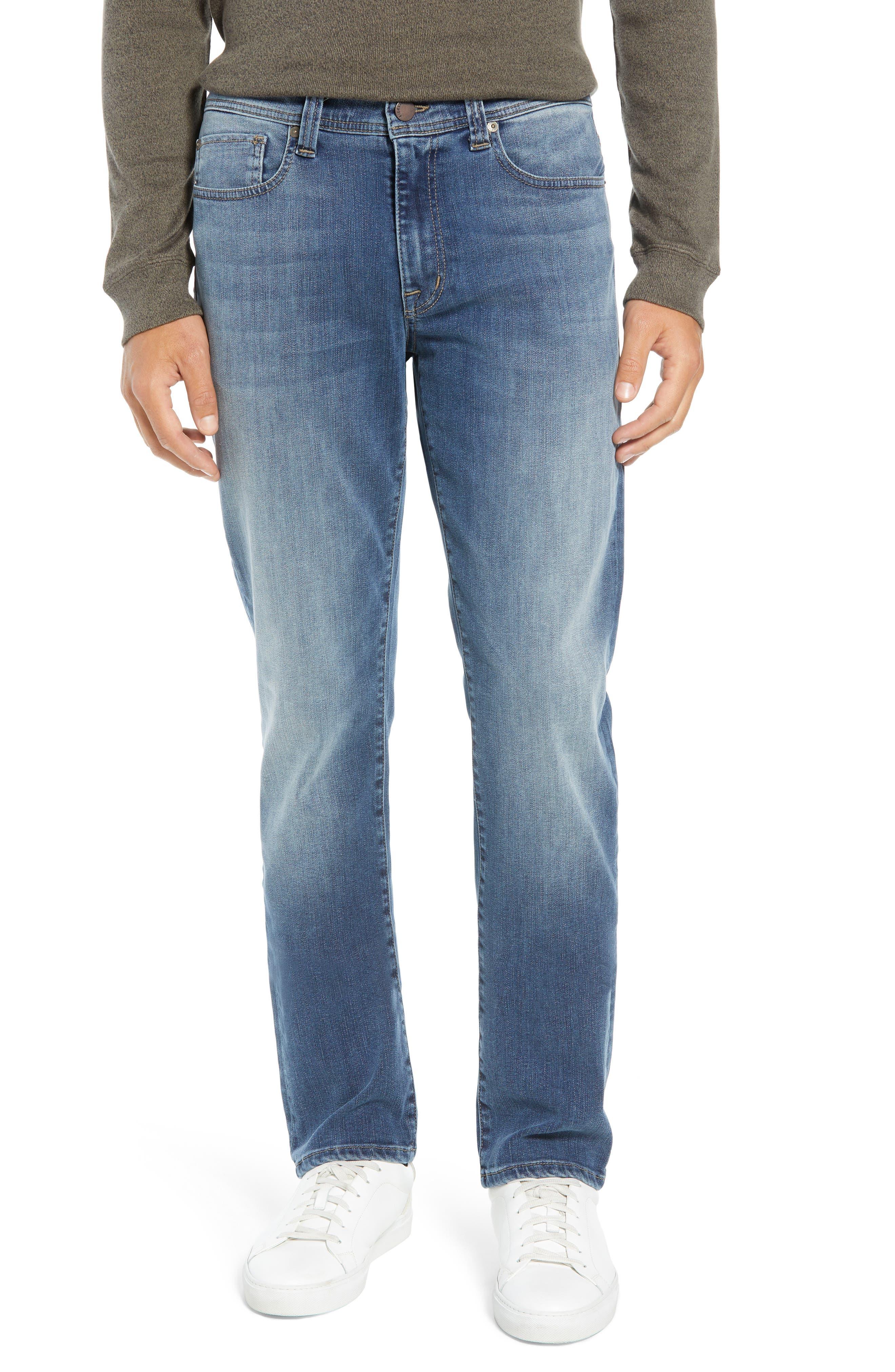 Jimmy Slim Straight Leg Jeans,                             Main thumbnail 1, color,                             FOSTER