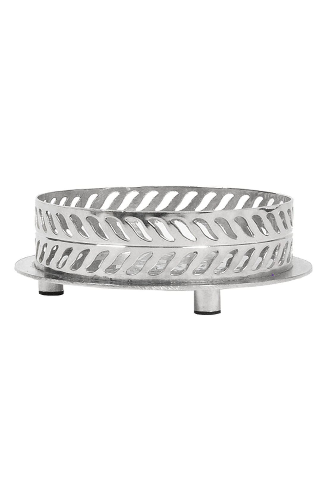 Nickel Home Ambiance Diffuser Tray,                             Alternate thumbnail 2, color,                             NO COLOR