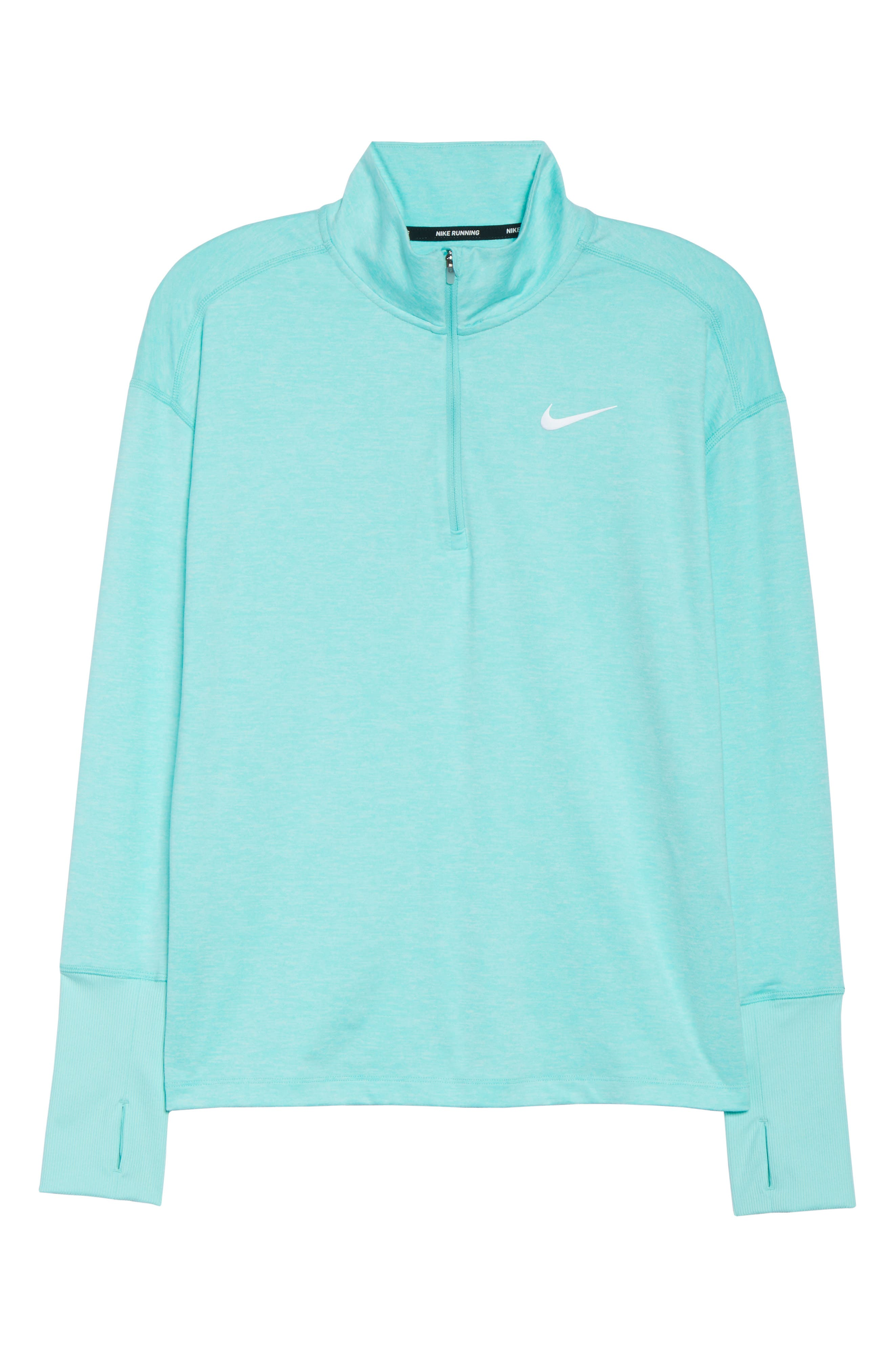 Element Long-Sleeve Running Top,                             Alternate thumbnail 7, color,                             TROPICAL TWIST/ TEAL TINT
