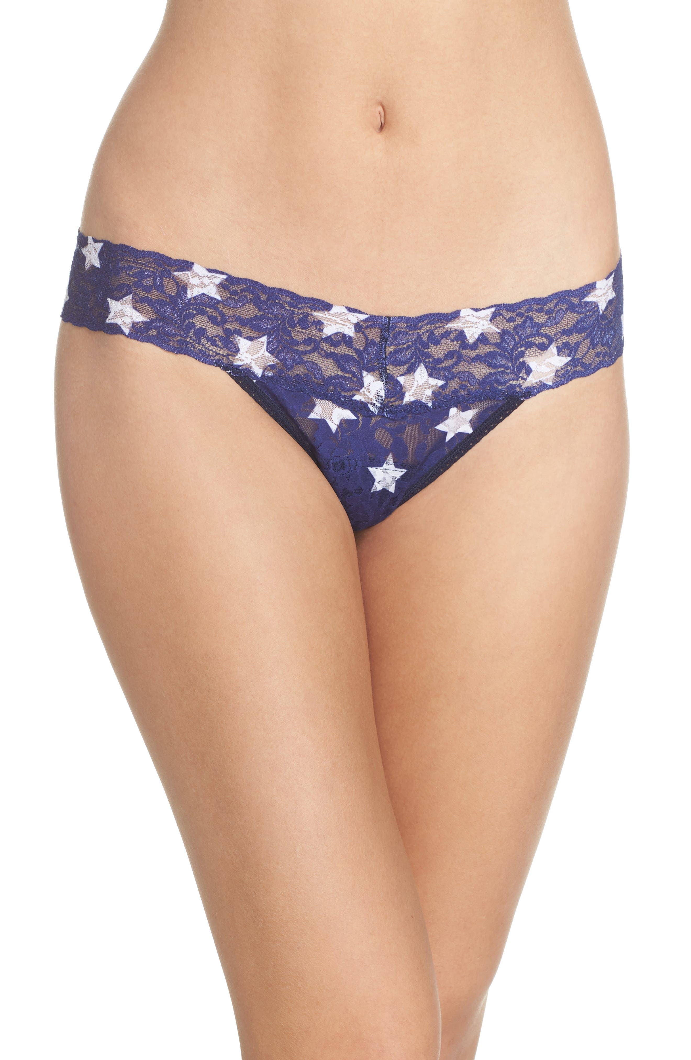 Print Low Rise Thong,                             Main thumbnail 10, color,