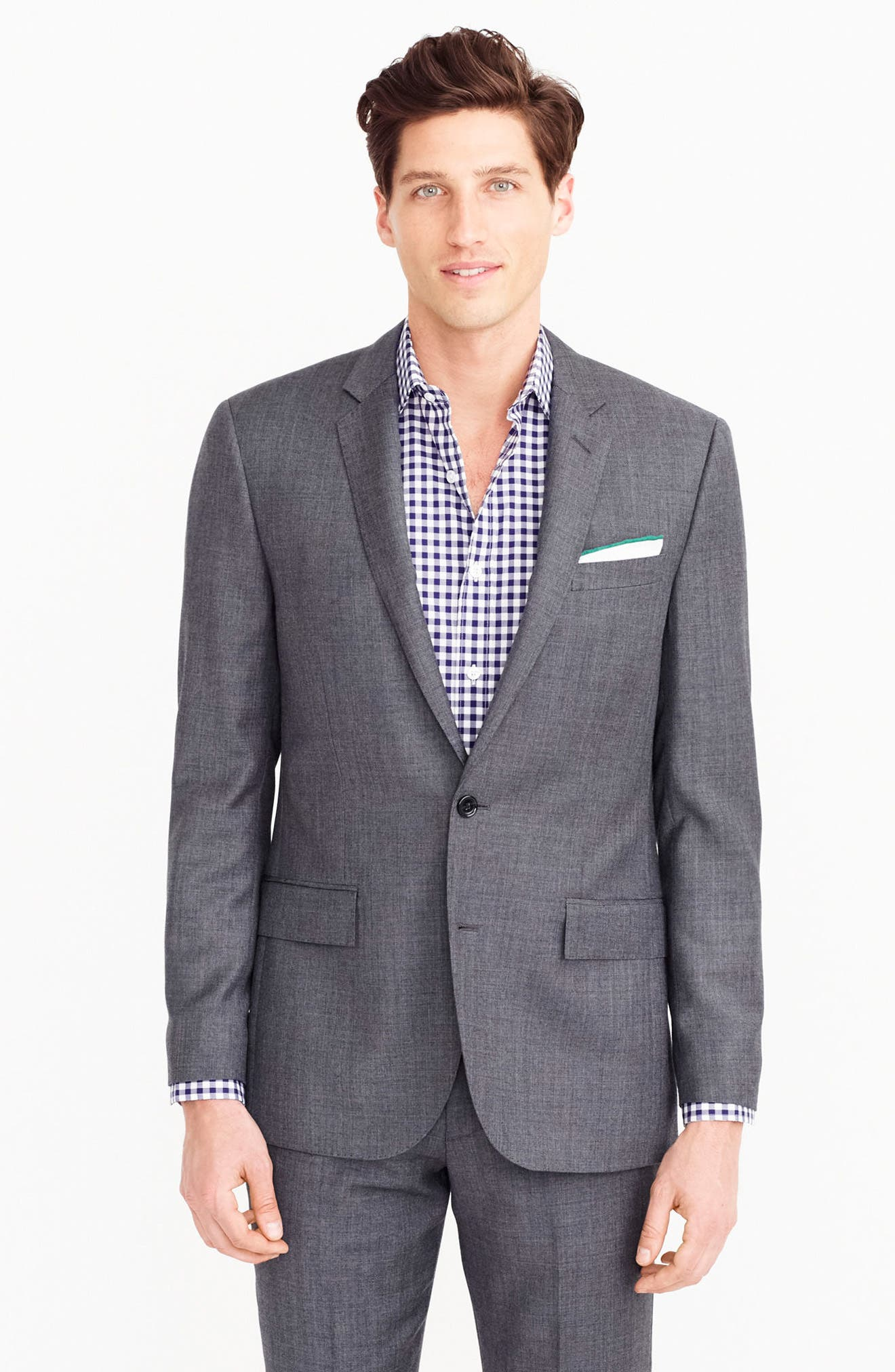 Ludlow Trim Fit Solid Wool Sport Coat,                             Alternate thumbnail 9, color,                             020