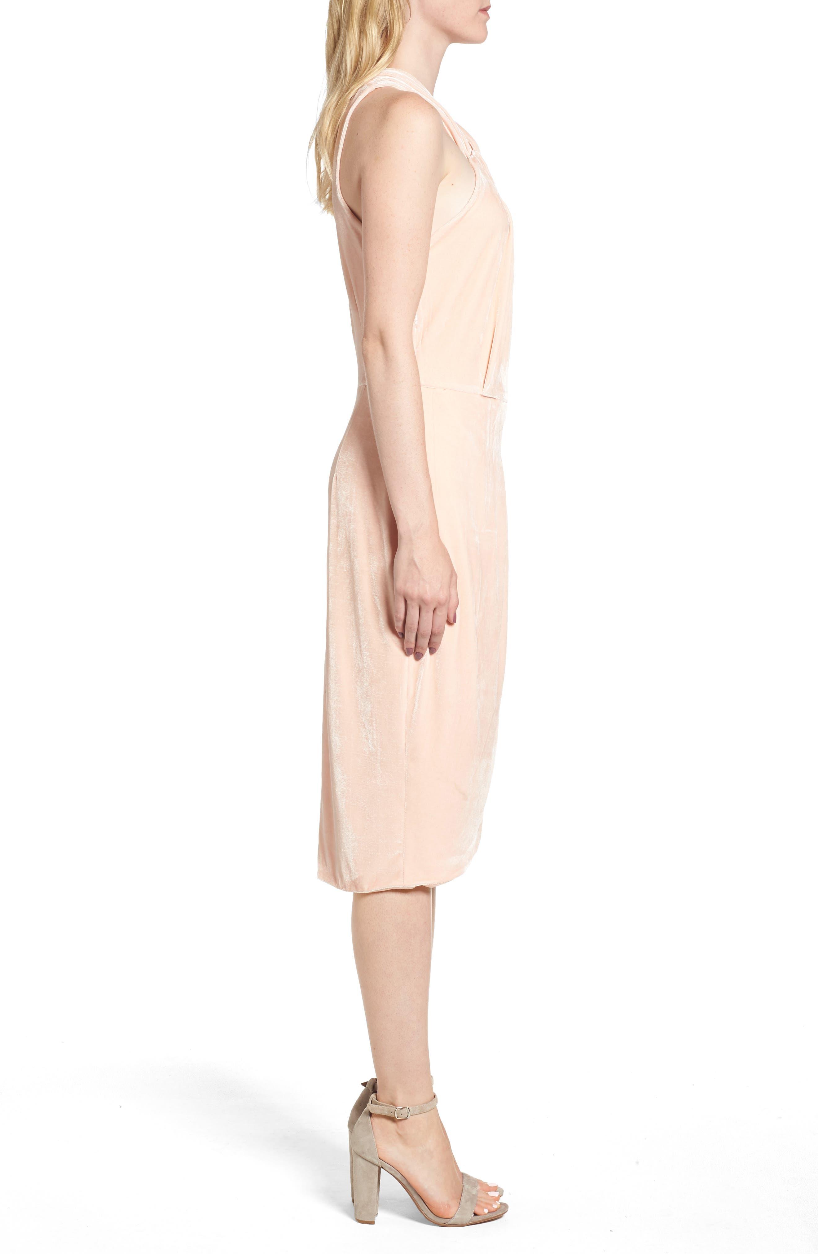 Wales Velvet Halter Dress,                             Alternate thumbnail 6, color,