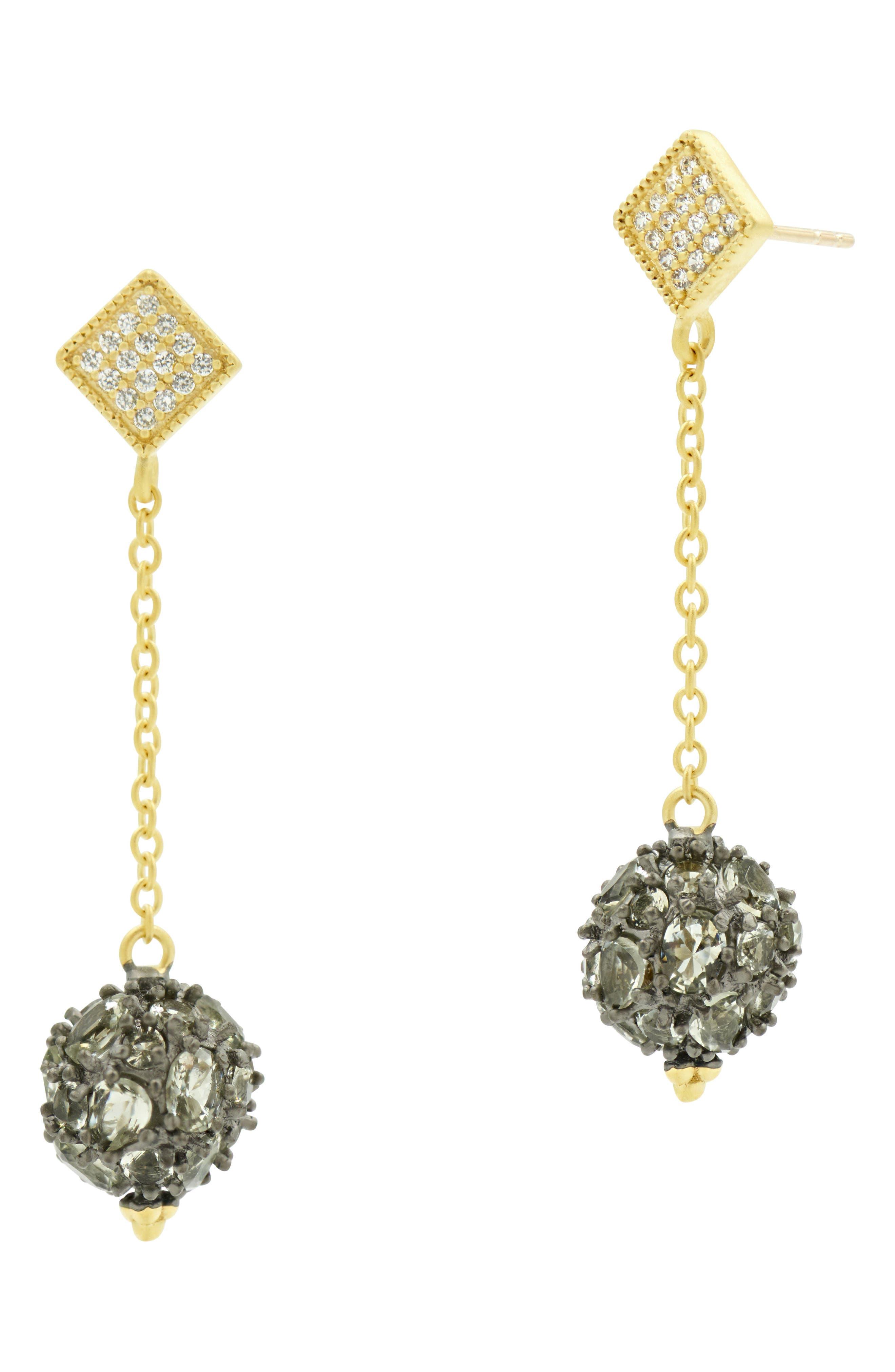 Rose Dor Ball Drop Earrings,                         Main,                         color,