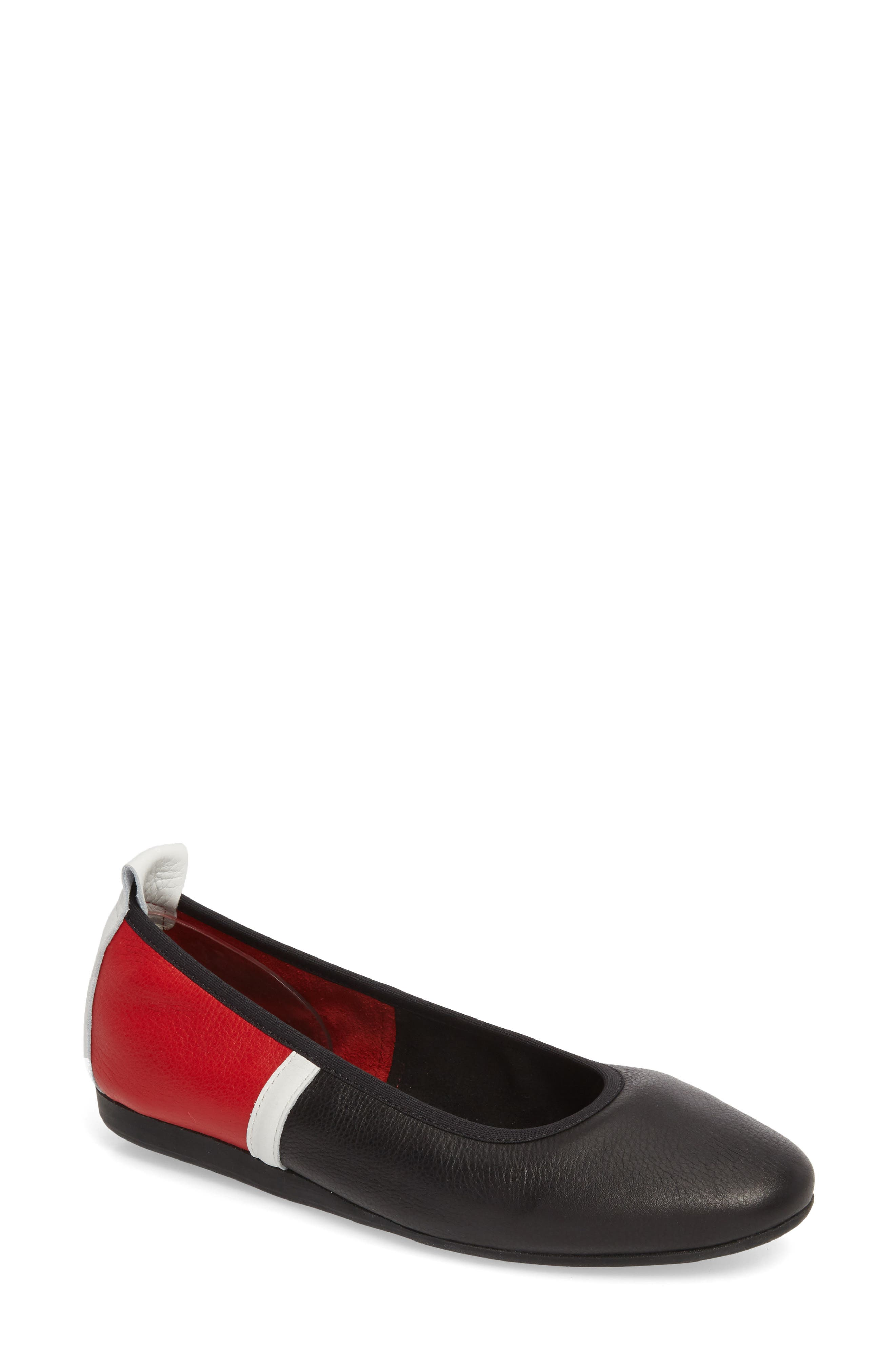 Lamour Rocky Colorblock Flat,                             Main thumbnail 1, color,                             600
