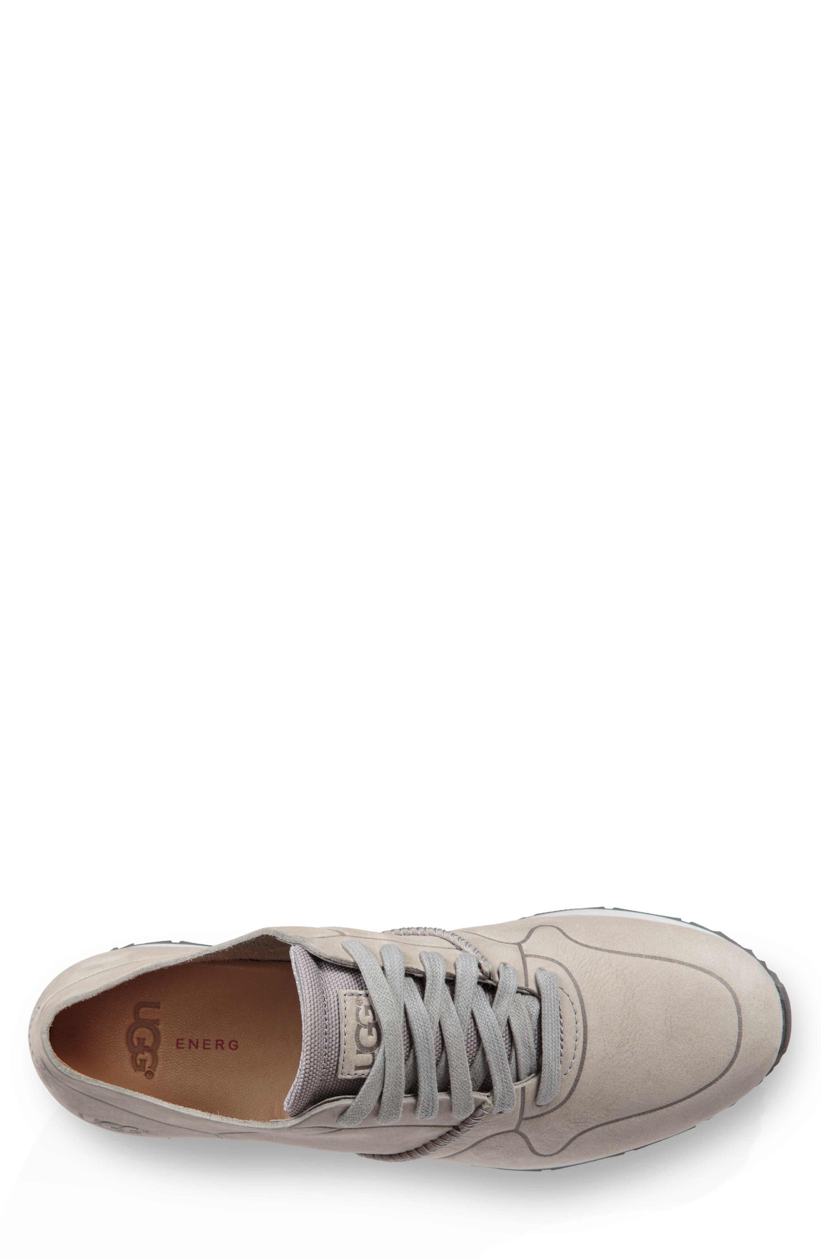 Trigo Unlined Sneaker,                             Alternate thumbnail 4, color,                             SEAL