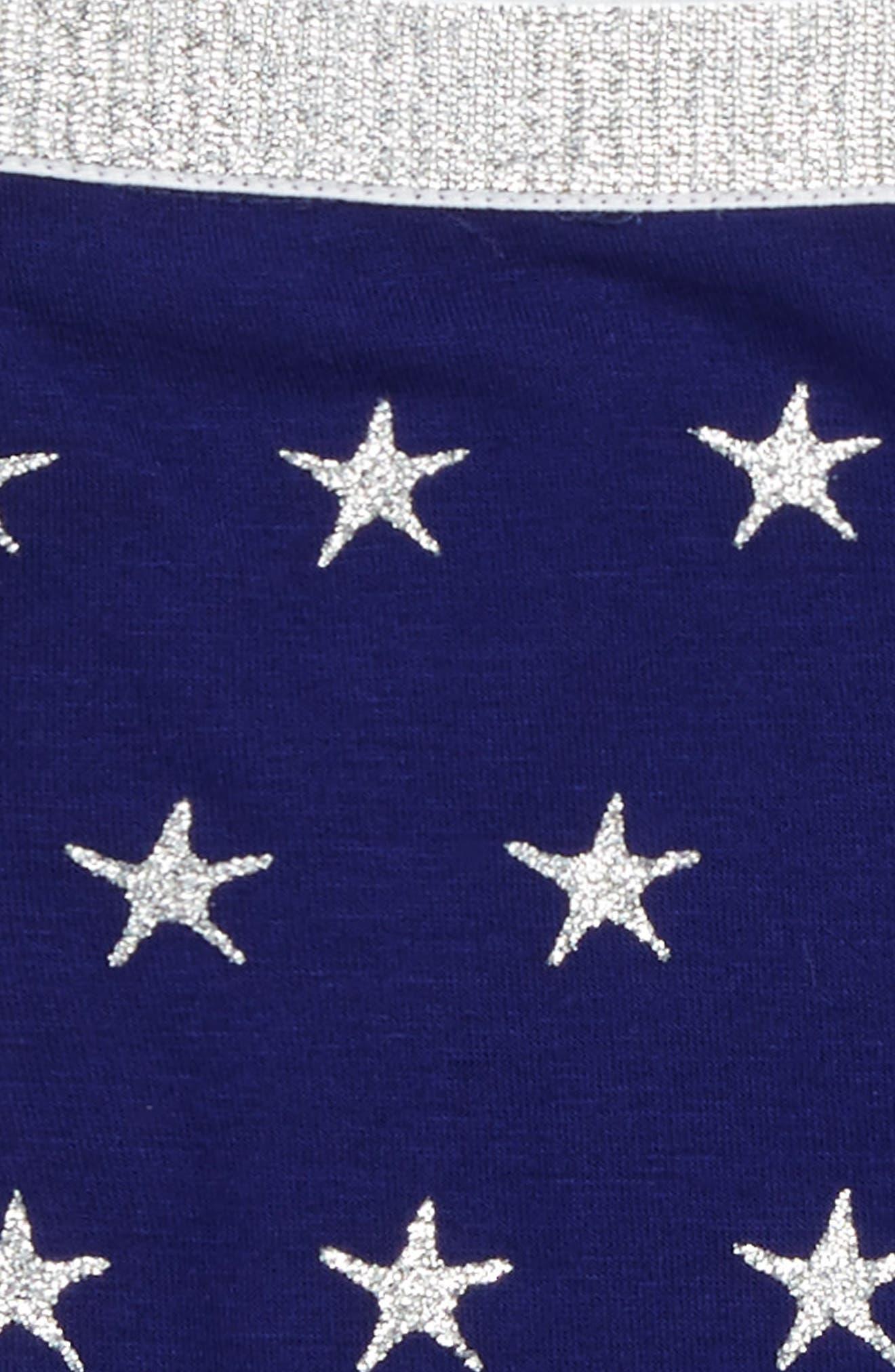TRULY ME Glittery Star Biker Shorts, Main, color, 497