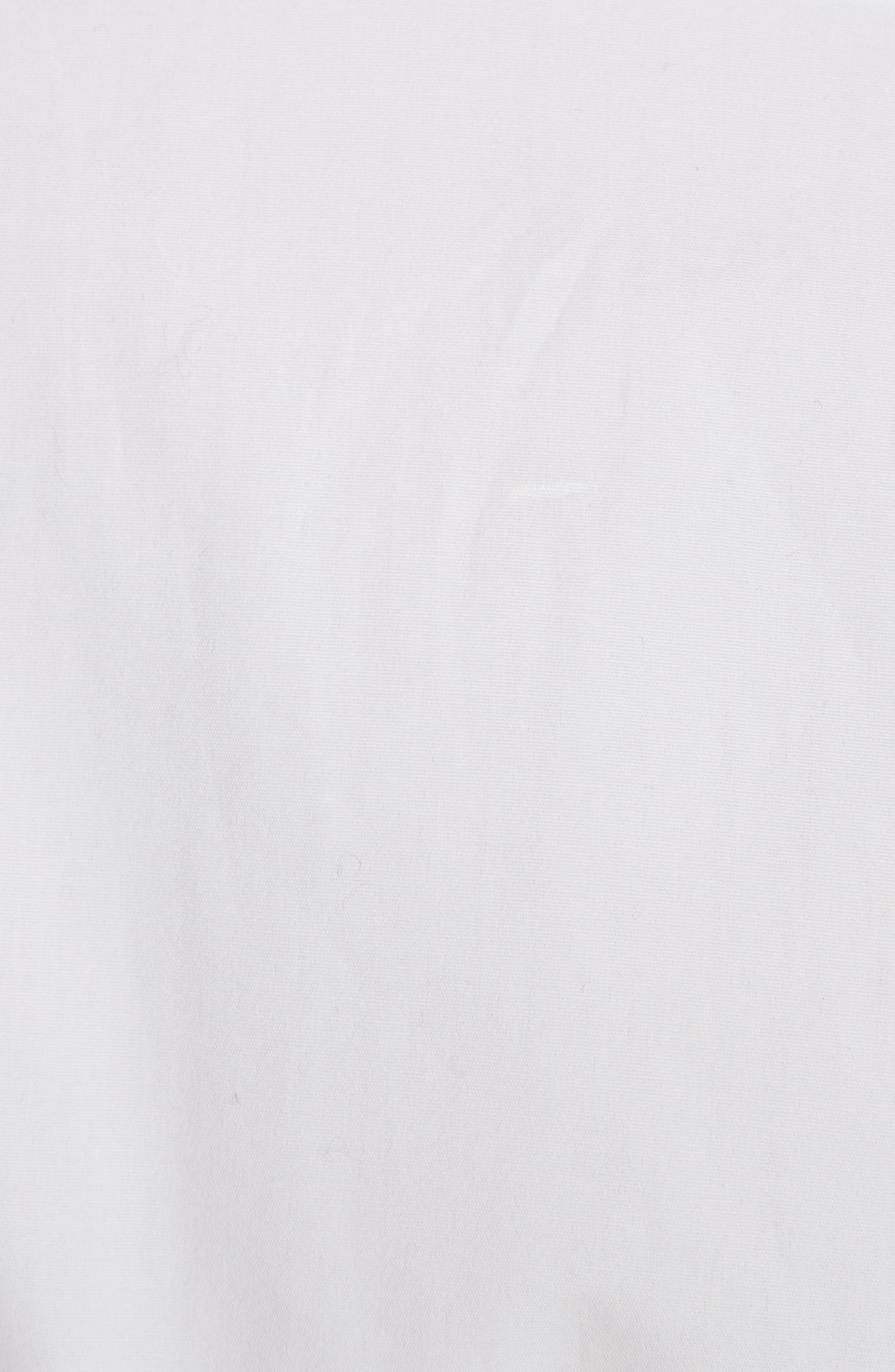 Ruffle Tuxedo Shirt,                             Alternate thumbnail 2, color,