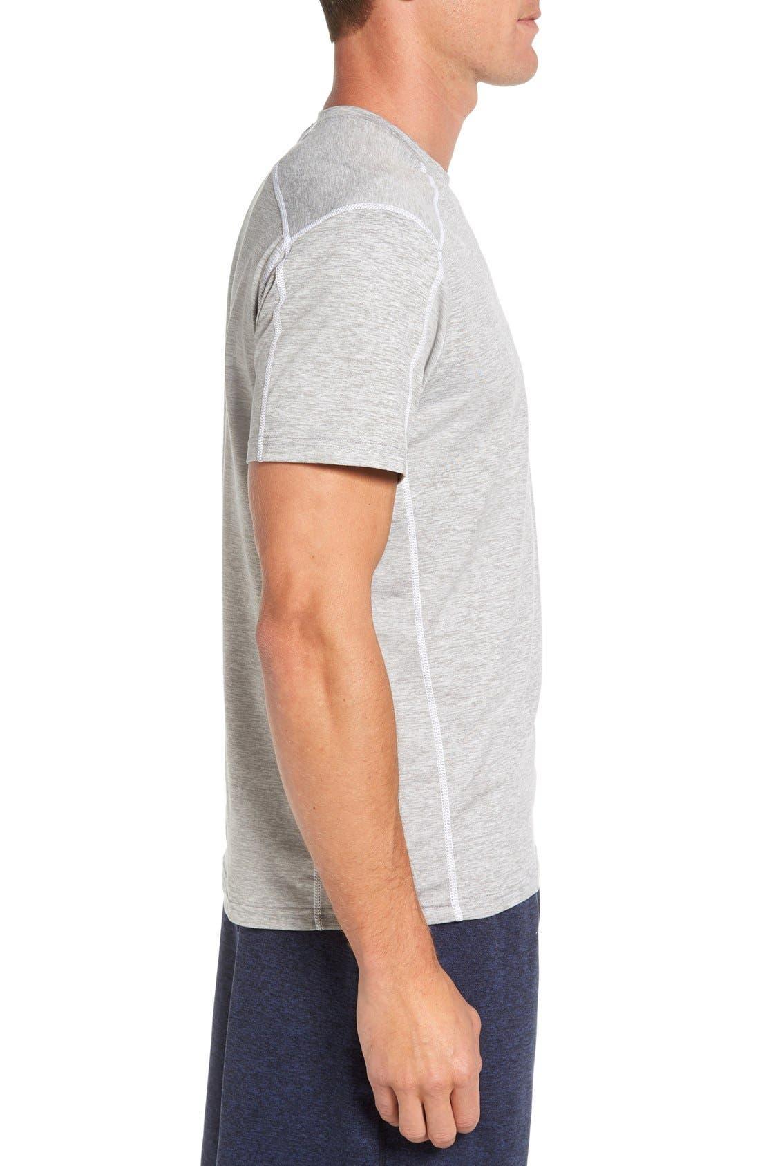 'Cooldown' Moisture Wicking Training T-Shirt,                             Alternate thumbnail 3, color,                             030
