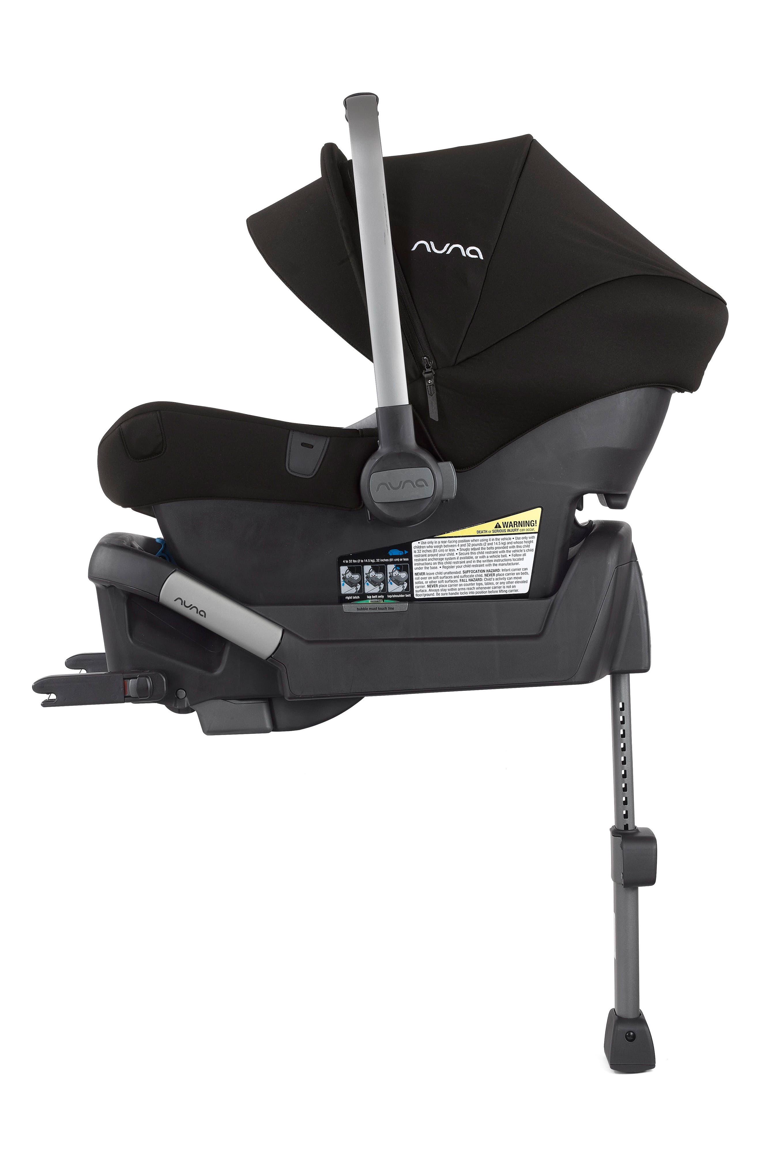 2017 PIPA<sup>™</sup> Lite LX Infant Car Seat & Base,                             Alternate thumbnail 6, color,                             CAVIAR
