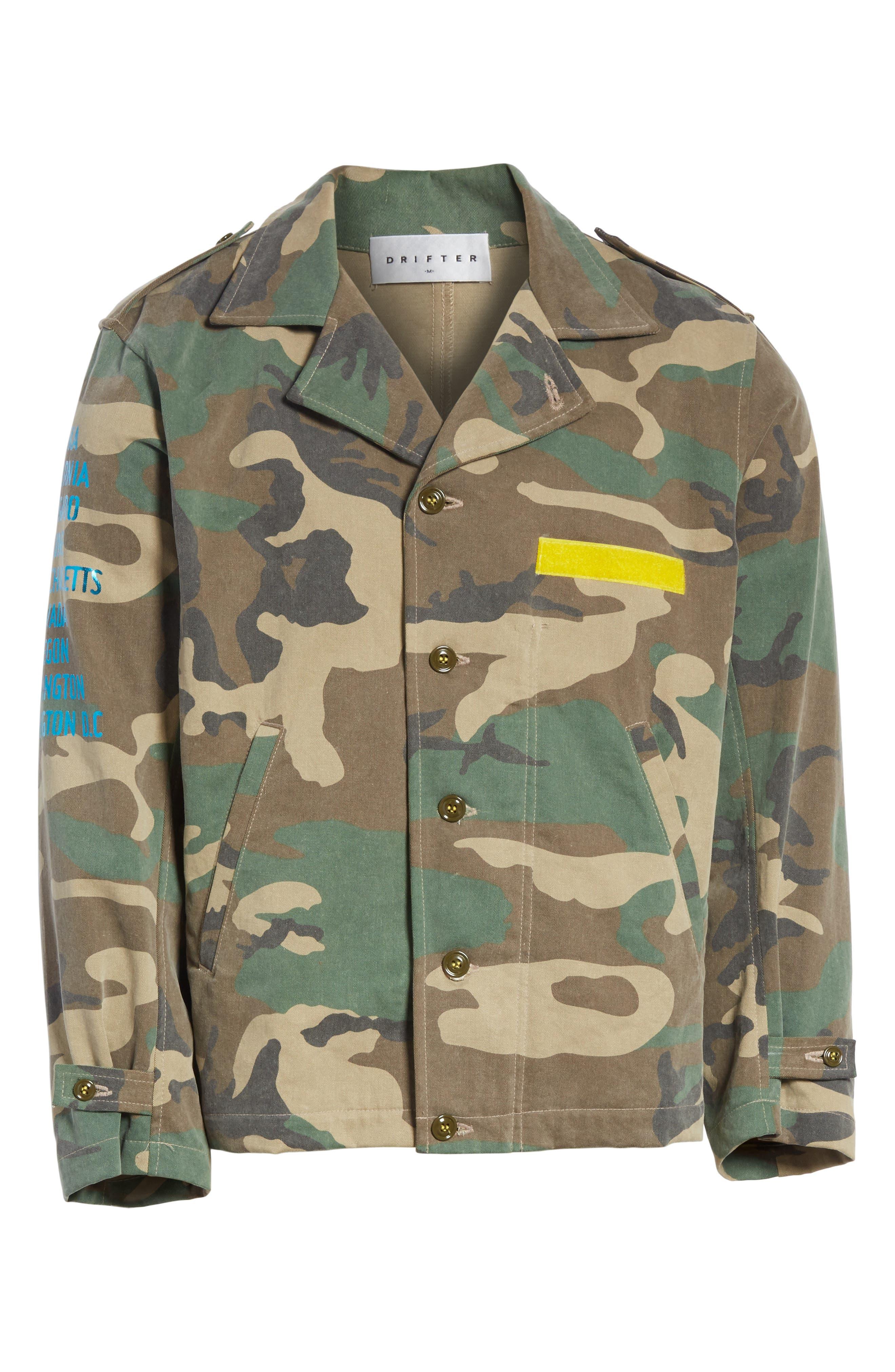 Shango Camo Jacket,                             Alternate thumbnail 5, color,