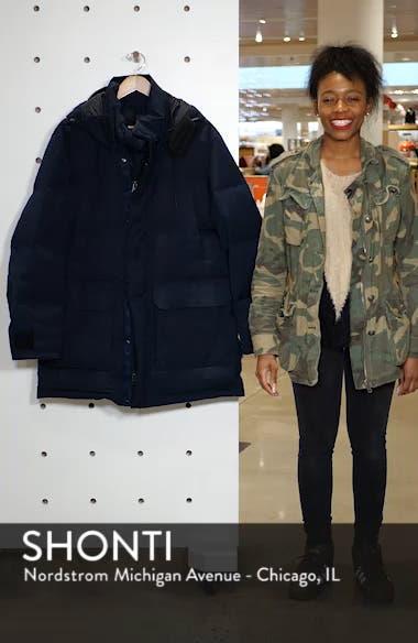 Onek Regular Fit Twill Puffer Jacket, sales video thumbnail