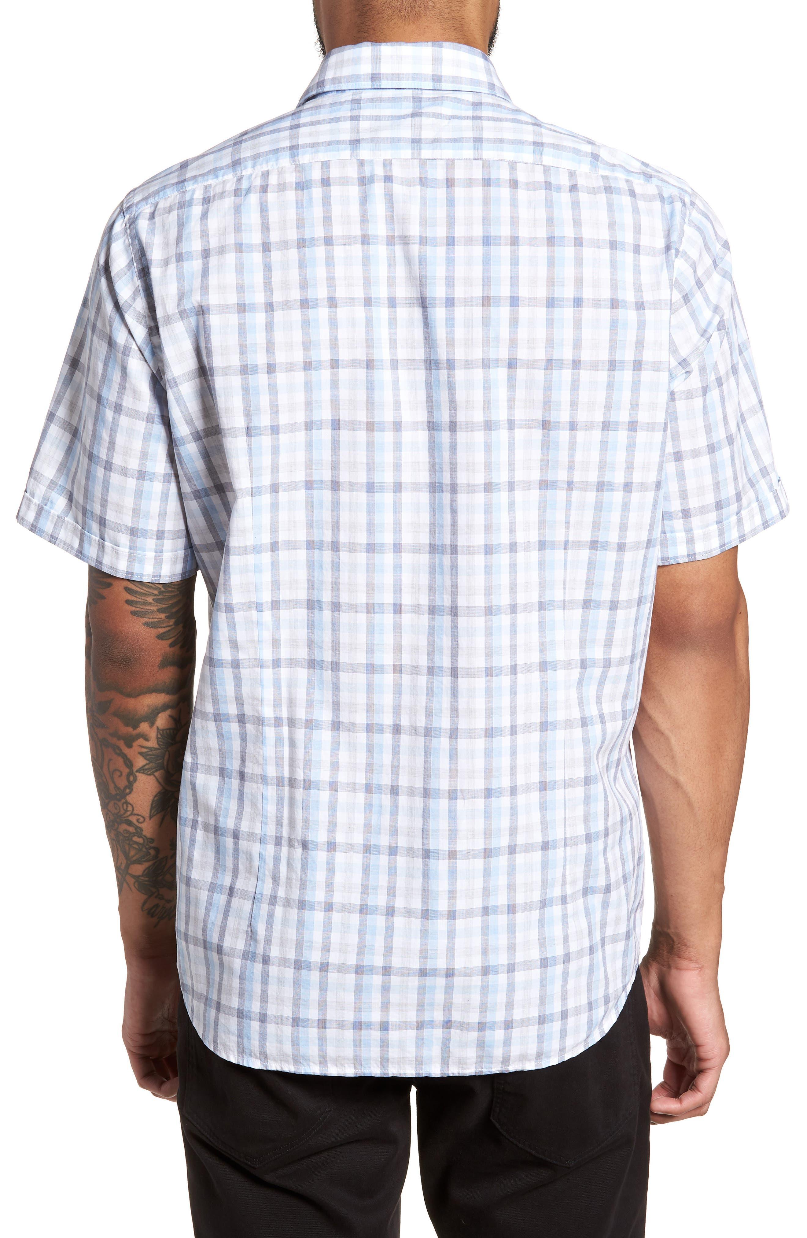 Luka Slim Fit Short Sleeve Sport Shirt,                             Alternate thumbnail 2, color,