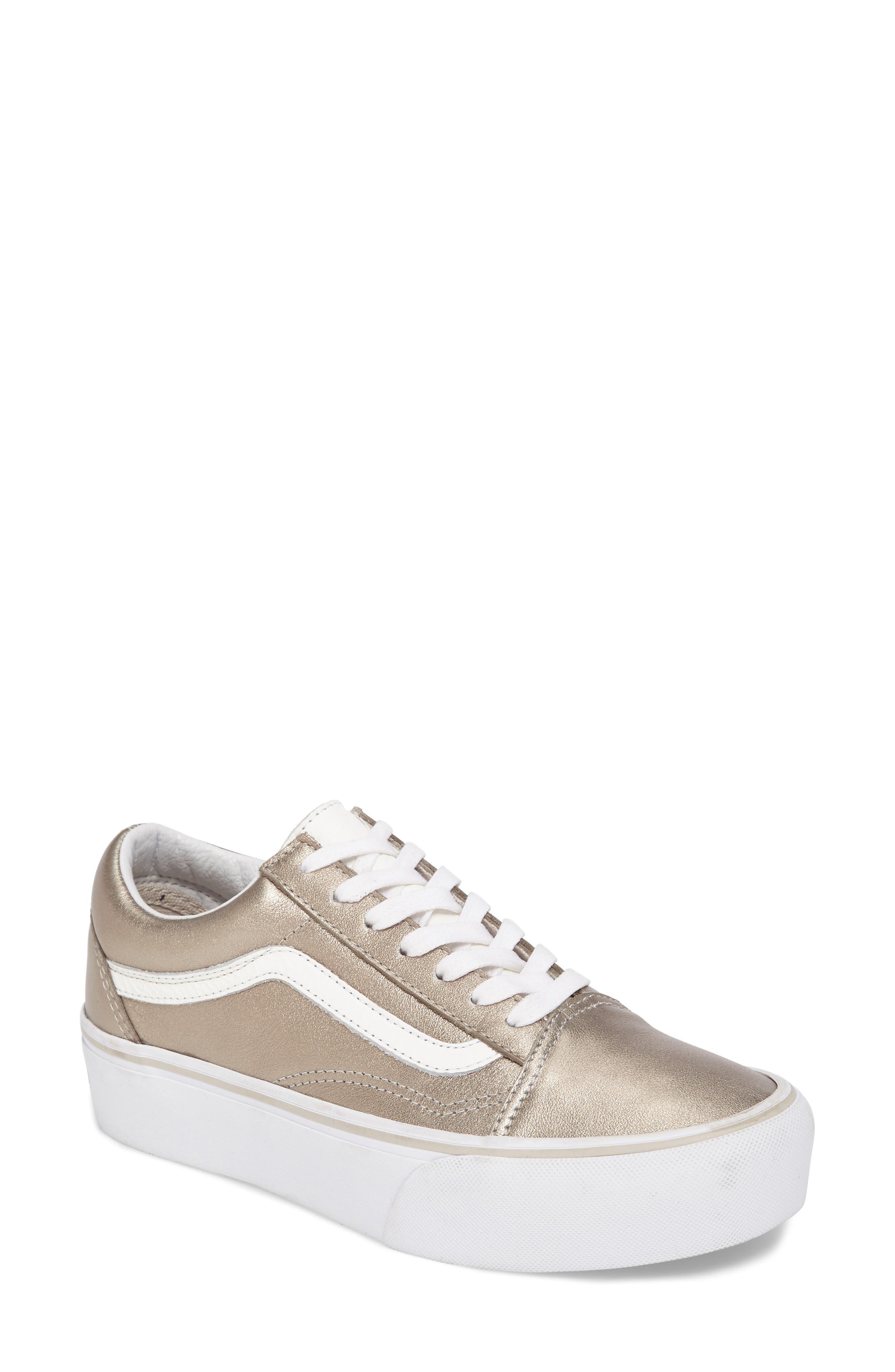 Old Skool Platform Sneaker,                             Main thumbnail 5, color,