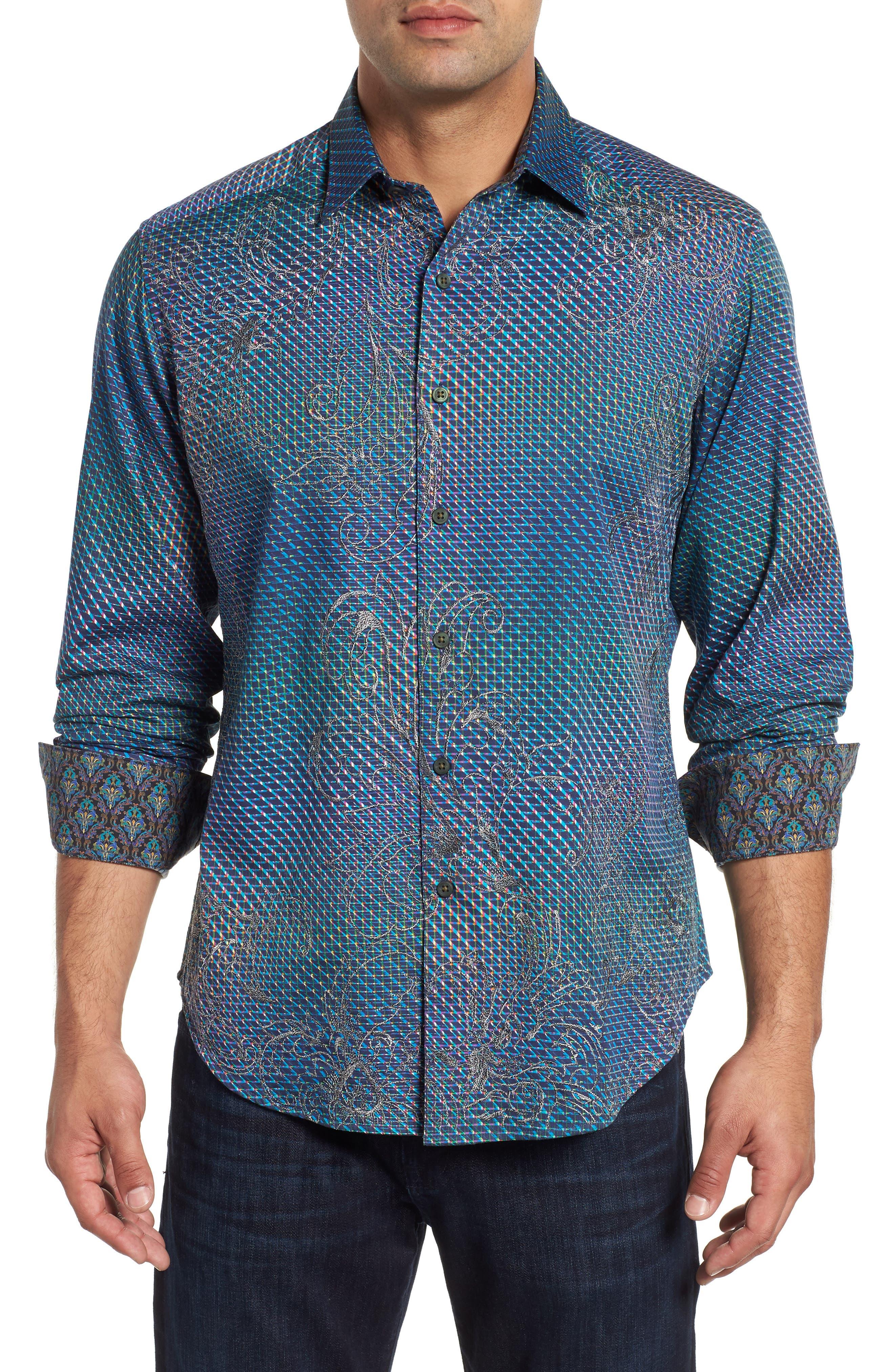 Marsh Classic Fit Sport Shirt,                         Main,                         color, 400
