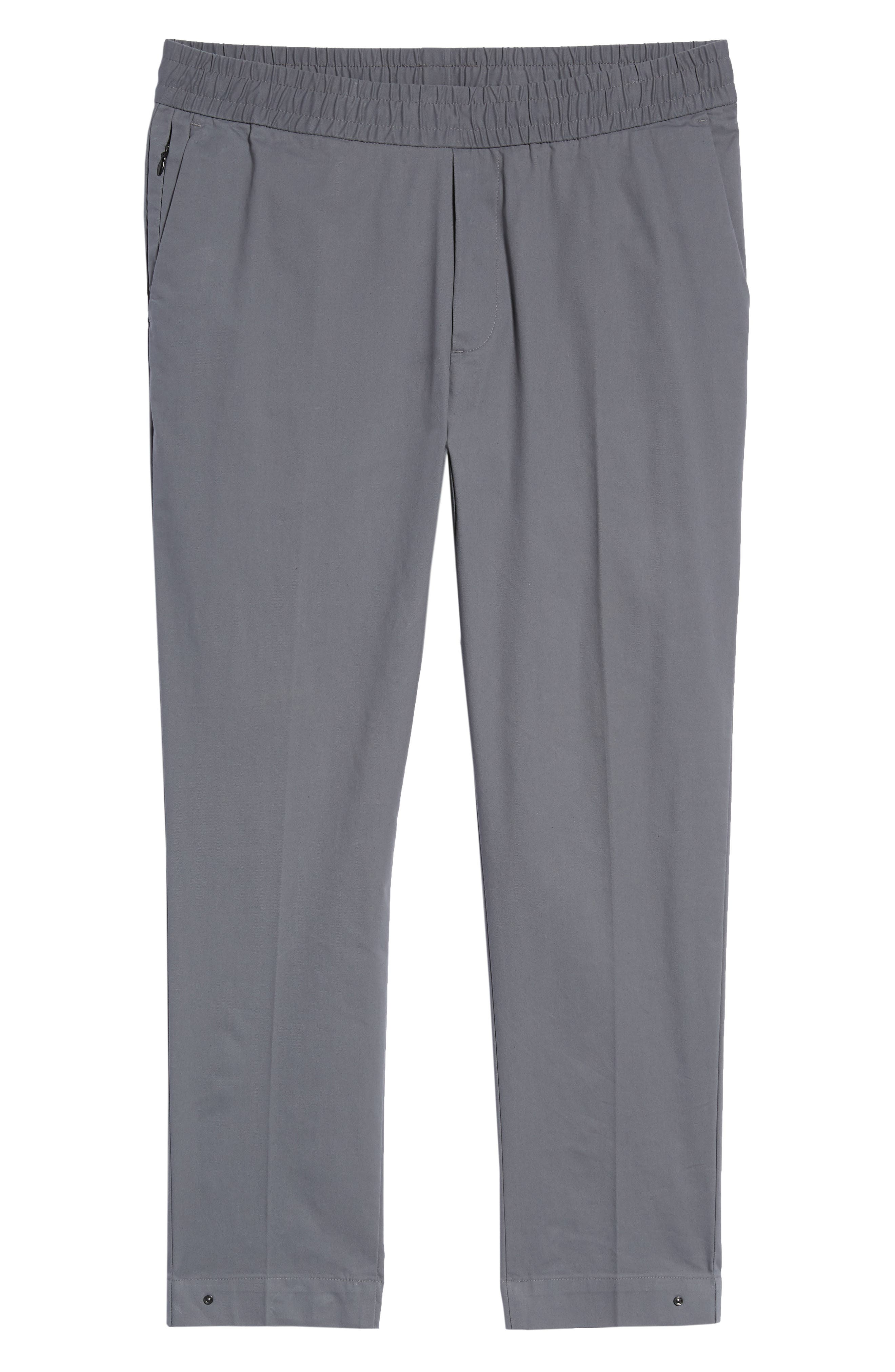 Slim Fit Tech E-Waist Pants,                             Alternate thumbnail 6, color,                             THUNDERCLOUD