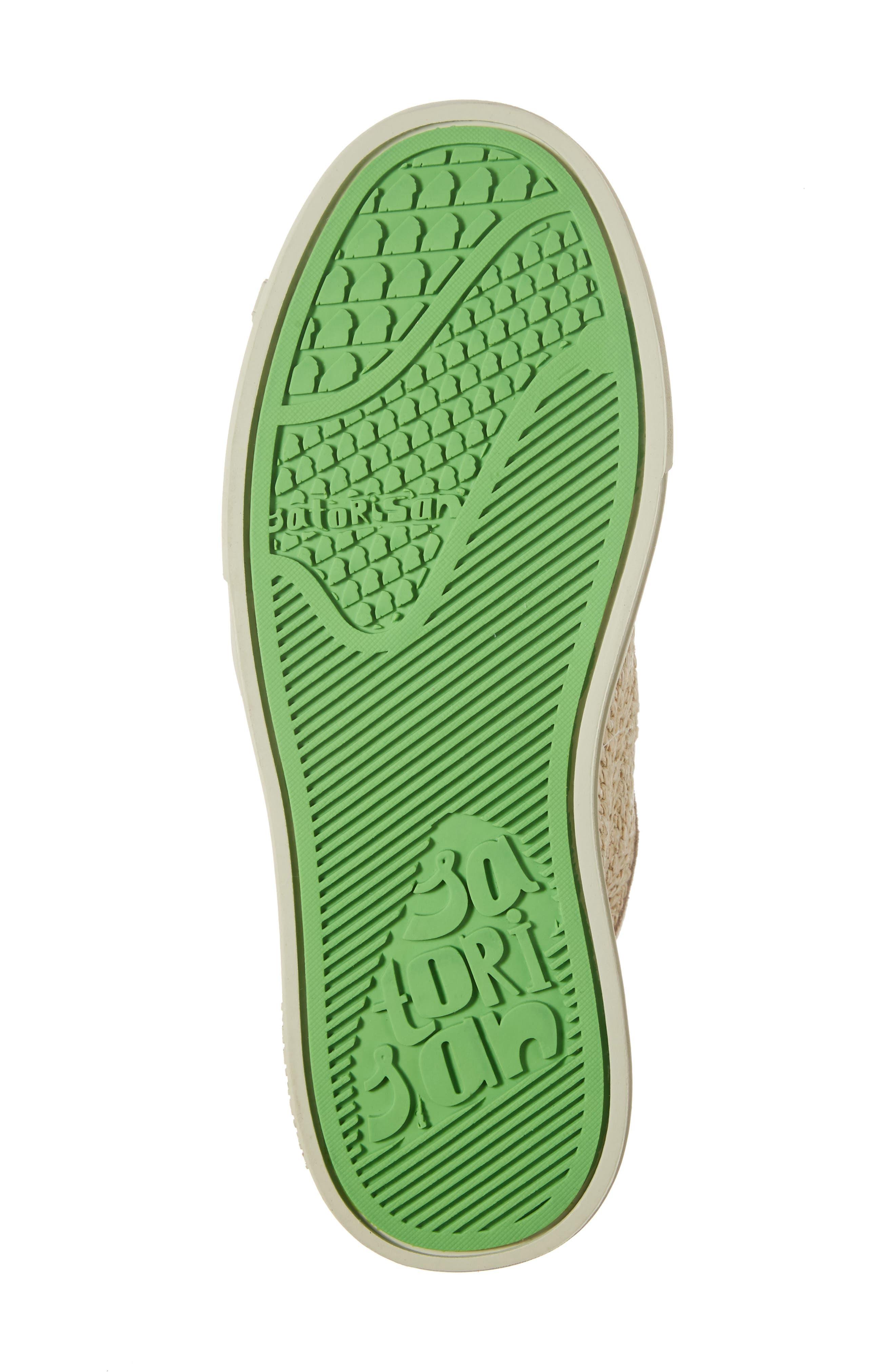 Hamoru Woven High Top Sneaker,                             Alternate thumbnail 6, color,                             YESO FABRIC