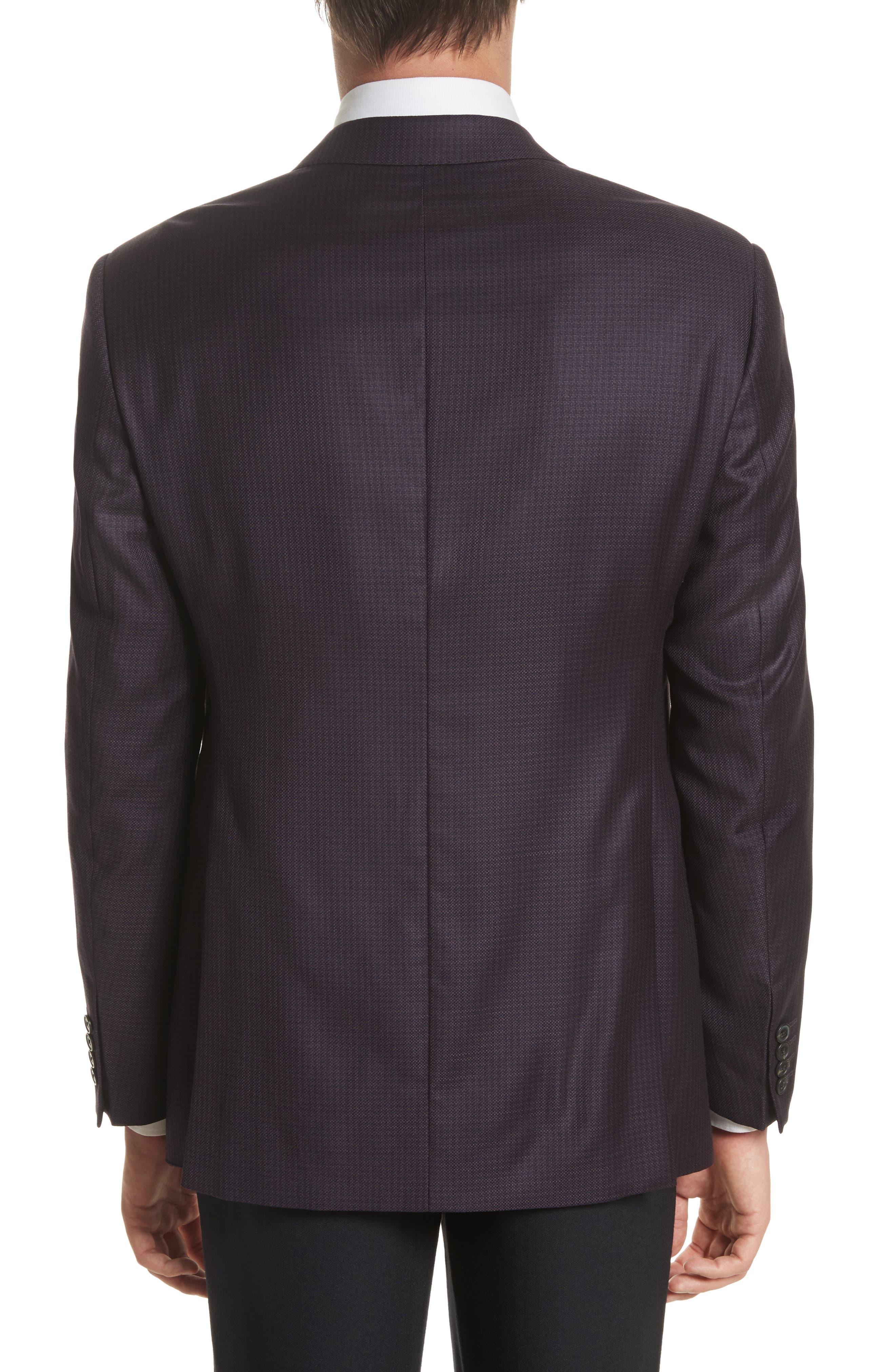 G-Line Trim Fit Houndstooth Wool Sport Coat,                             Alternate thumbnail 2, color,                             604