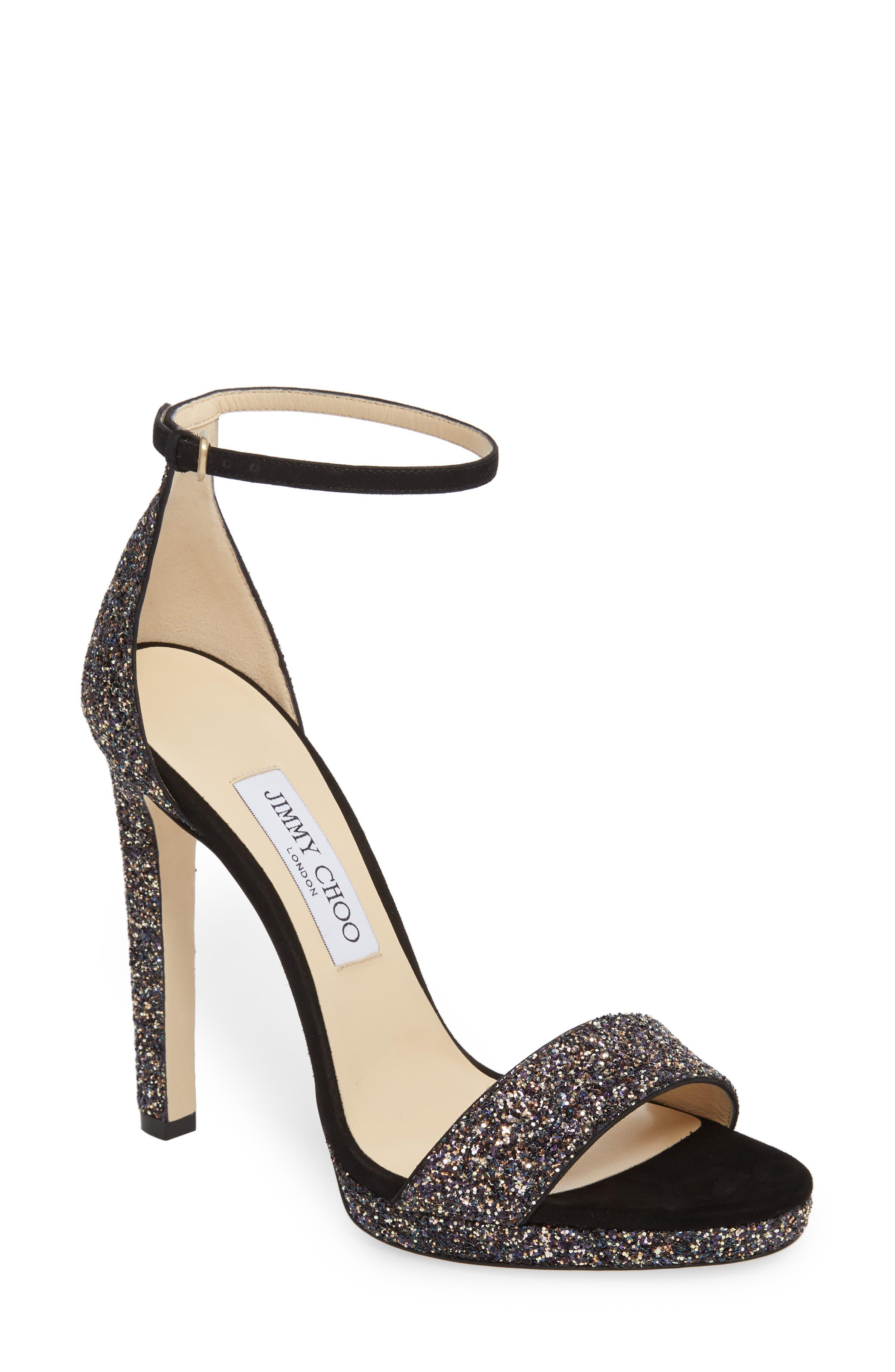 Misty Glitter Platform Sandal,                         Main,                         color, TWILIGHT