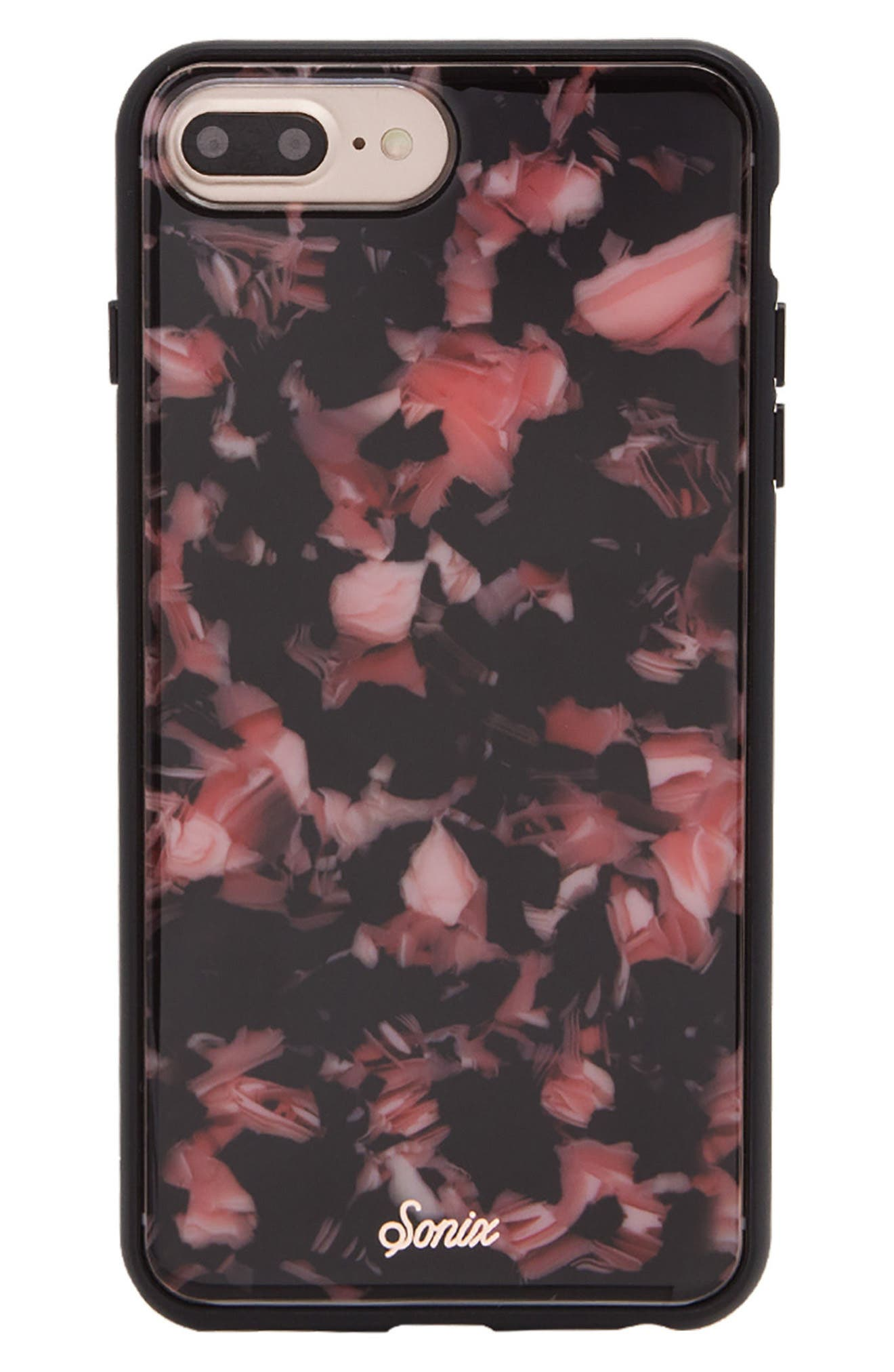 Tortoise Print iPhone 6/6s/7/8 & 6/6s/7/8 Plus Case,                             Main thumbnail 1, color,                             650