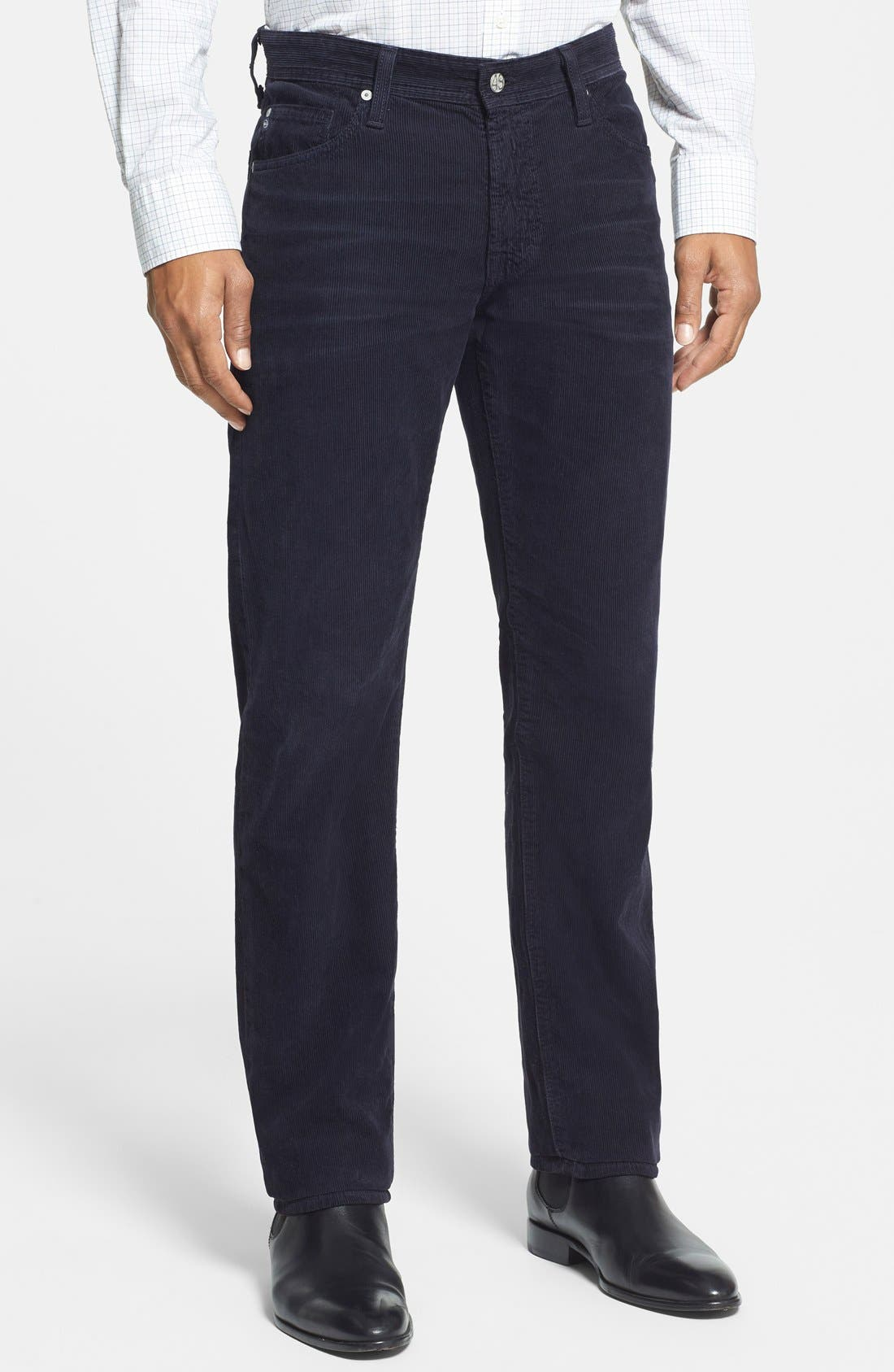 'Graduate' Tailored Straight Leg Corduroy Pants,                             Main thumbnail 14, color,