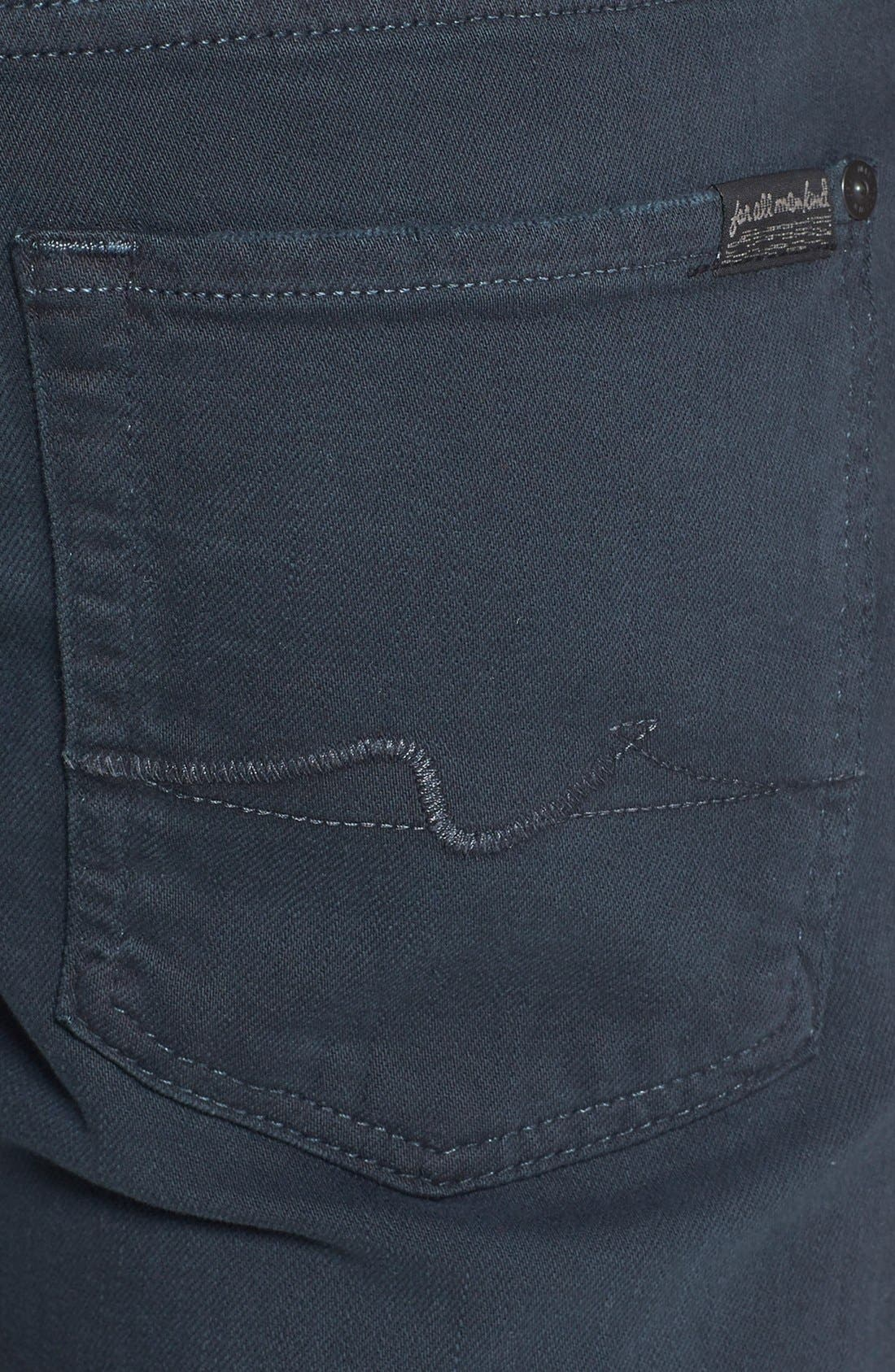 'Slimmy - Luxe Performance' Slim Fit Jeans,                             Alternate thumbnail 3, color,                             004