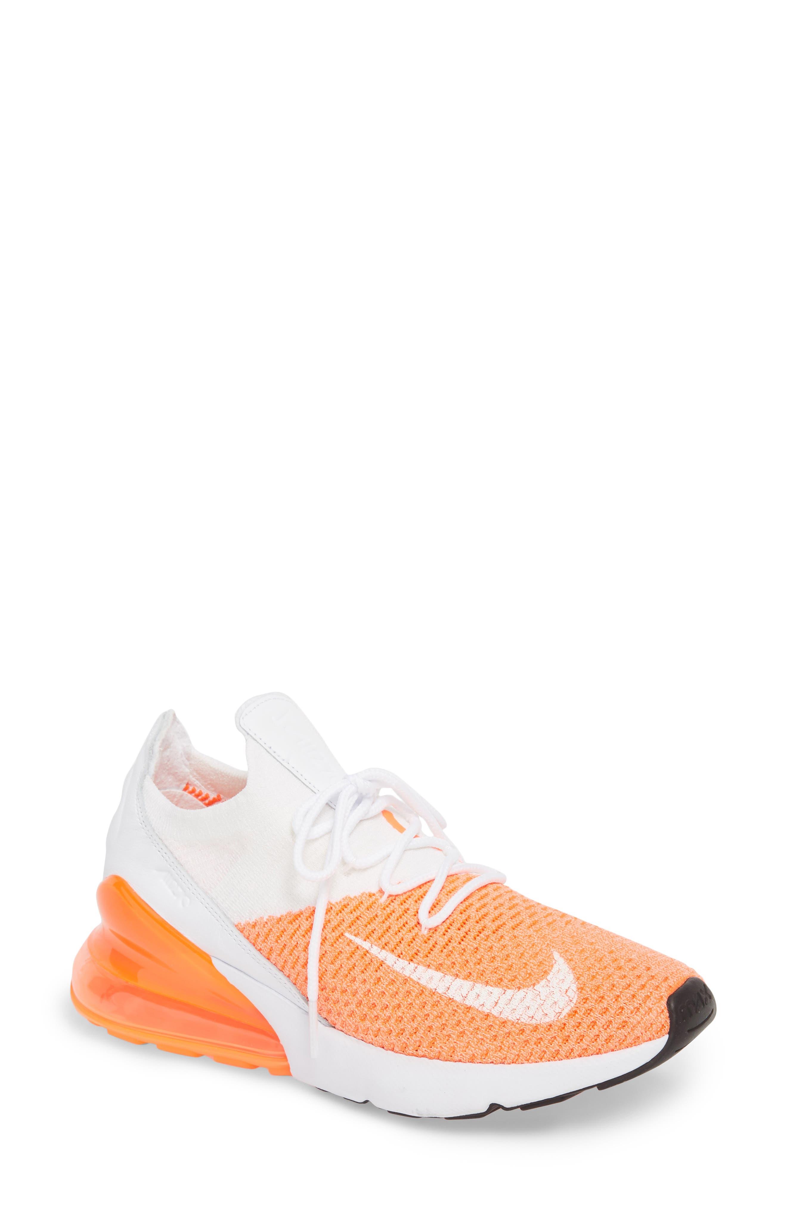 Air Max 270 Flyknit Sneaker,                             Main thumbnail 9, color,
